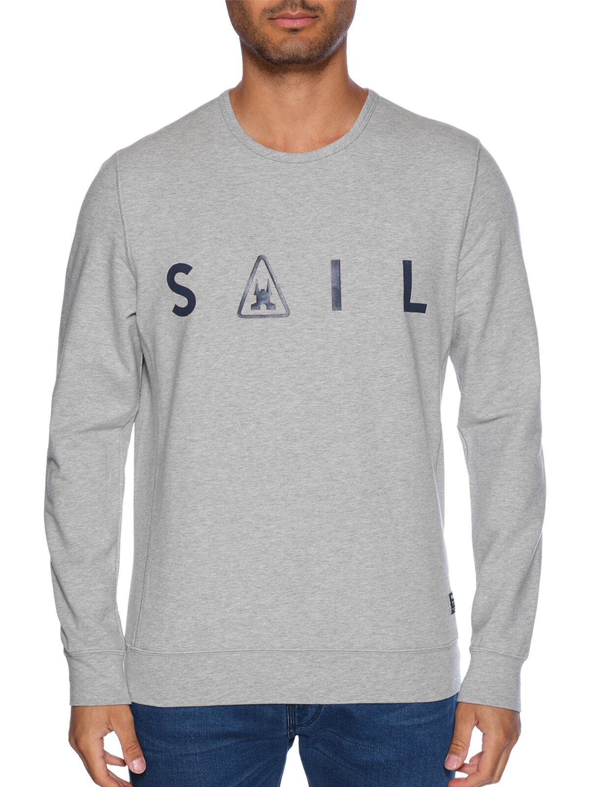 Gaastra Rough Sea Crew Sweatshirt navy   Dress for less