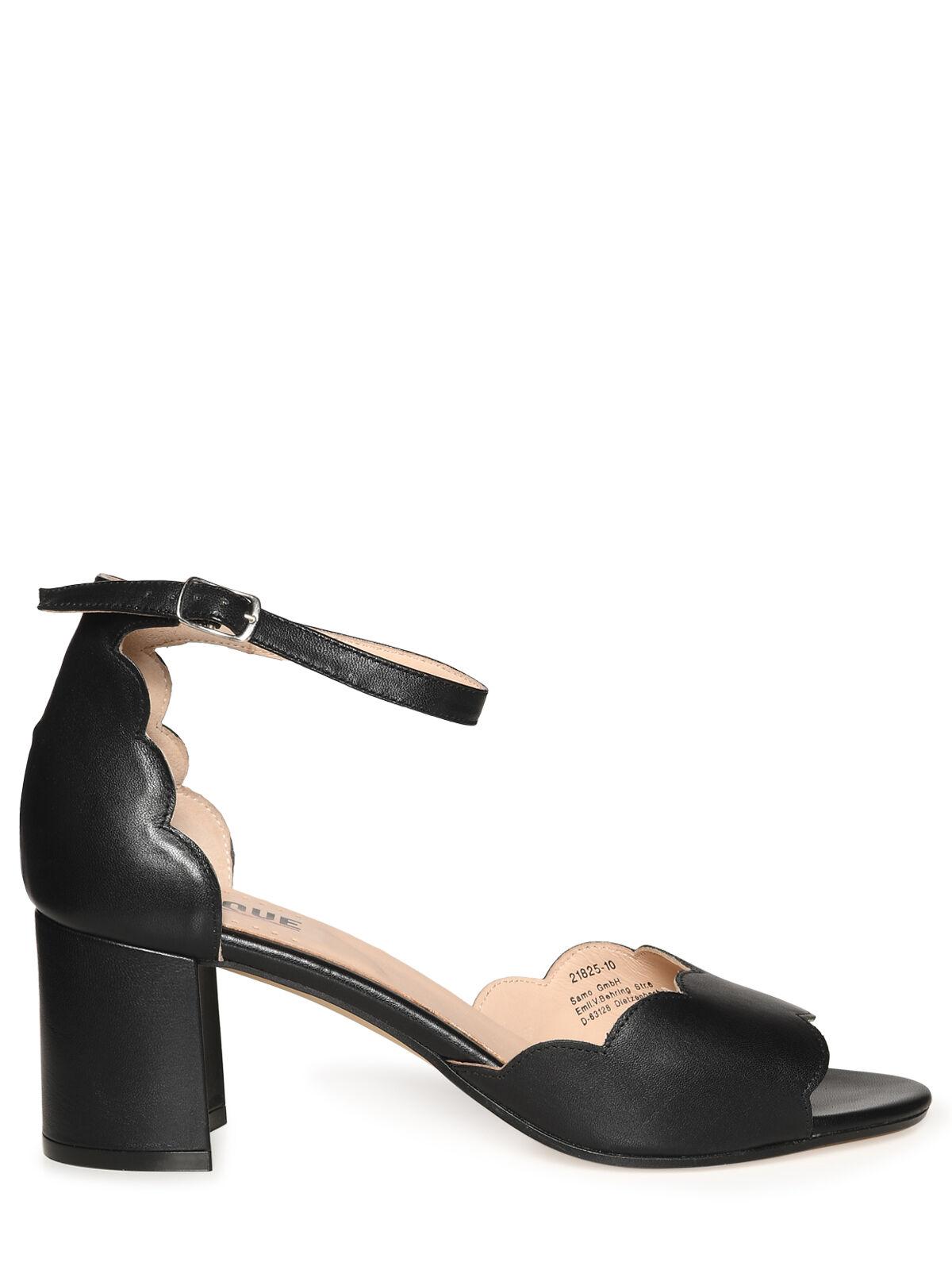sandalen mit fesselriemchen schwarz