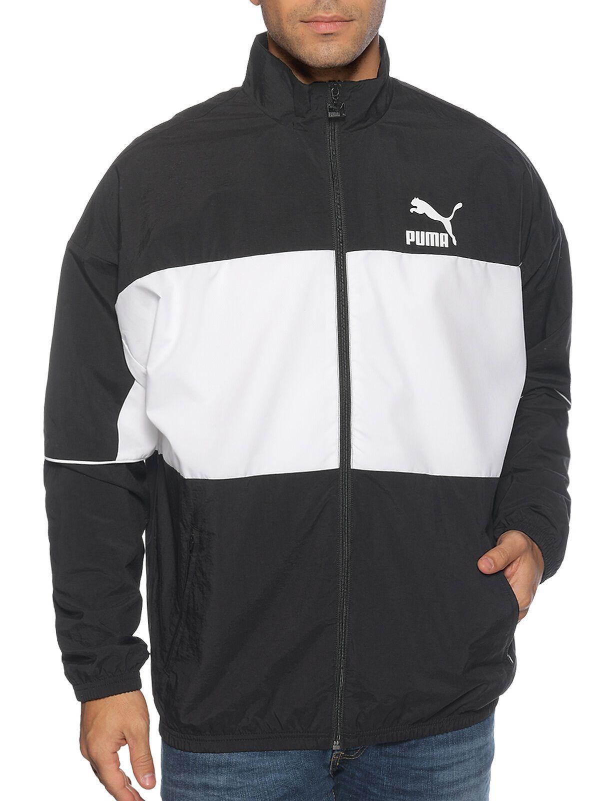 Schwarz Weiße Jacke