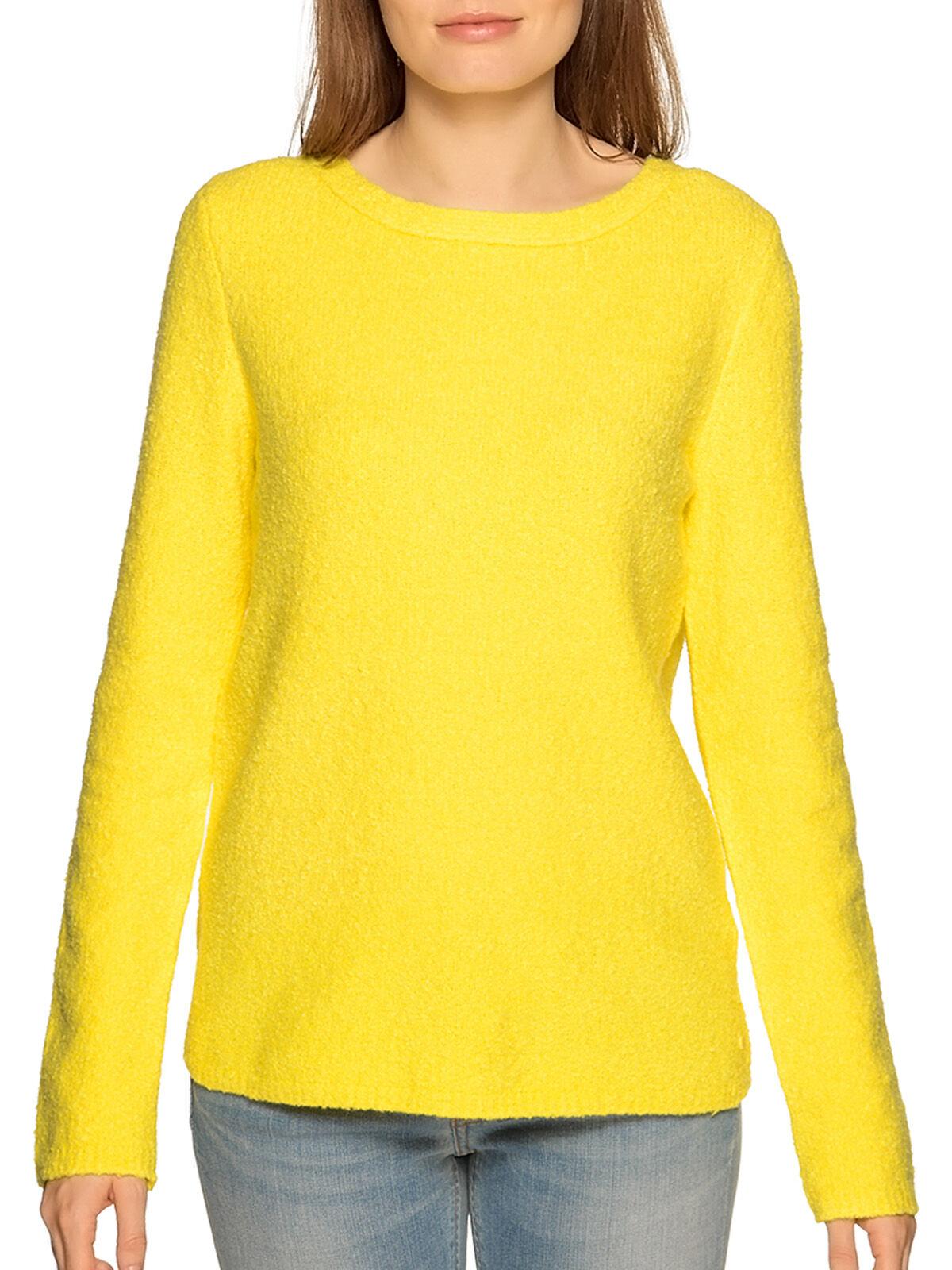 MARC O'POLO Pullover gelb | L