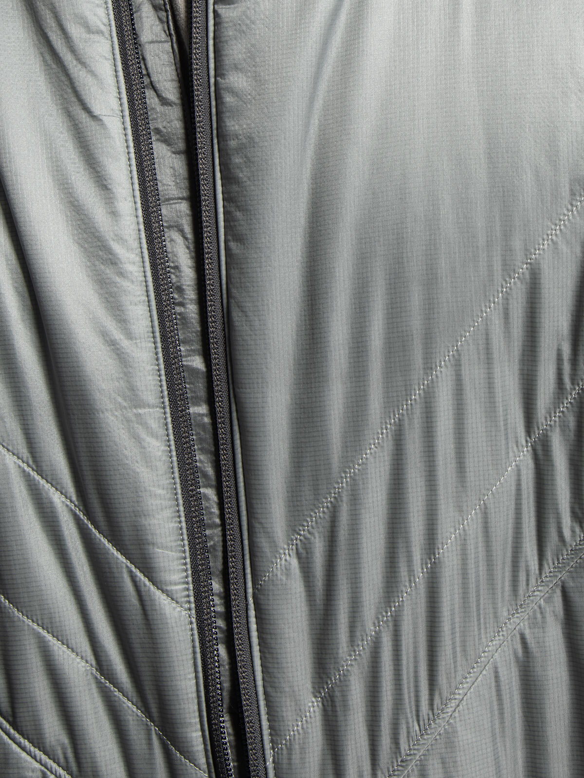 the north face jacke silber