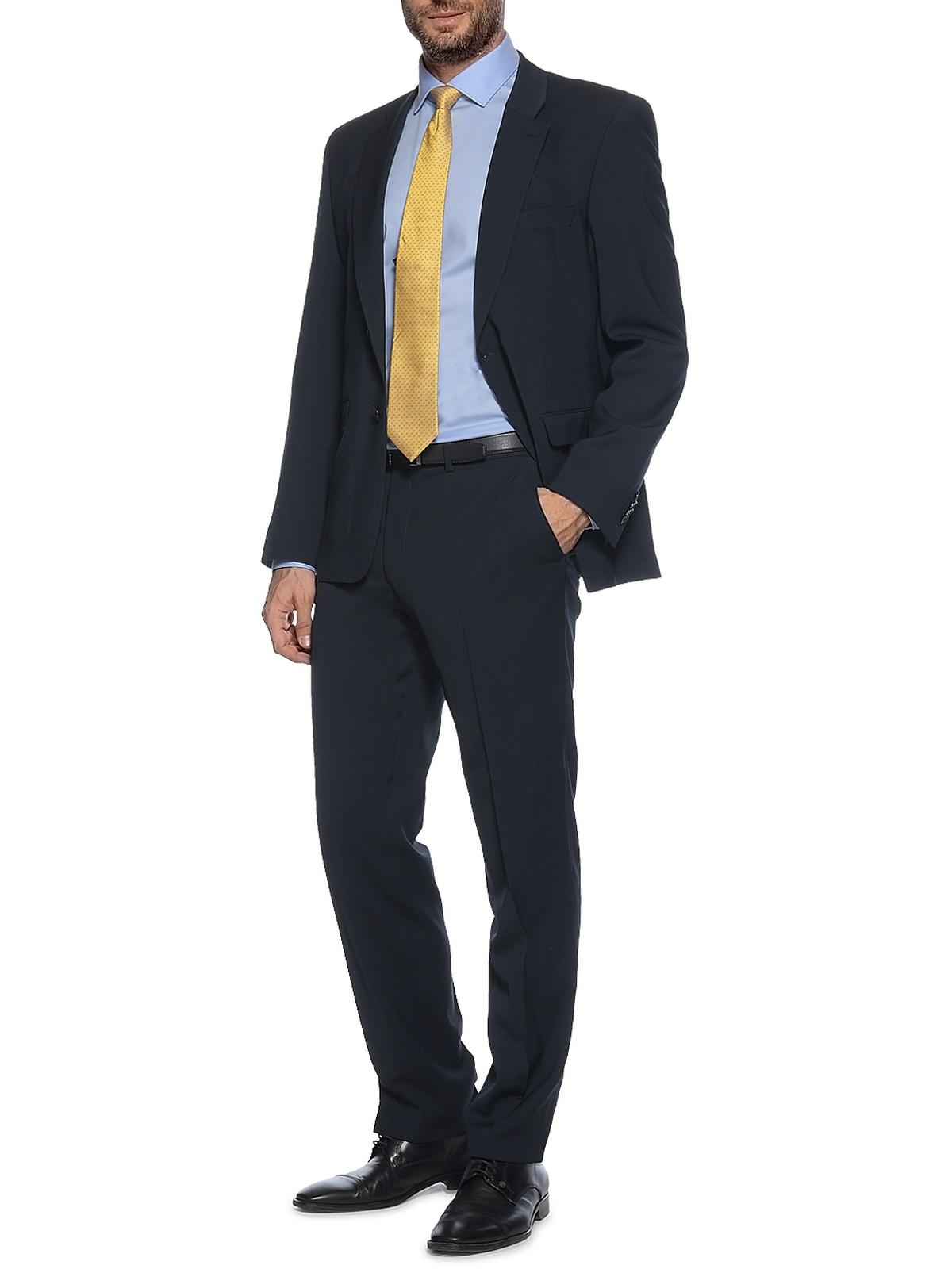 Lan.F.lli Cerruti Franco, Regular Fit in blau für Herren, Größe: 90