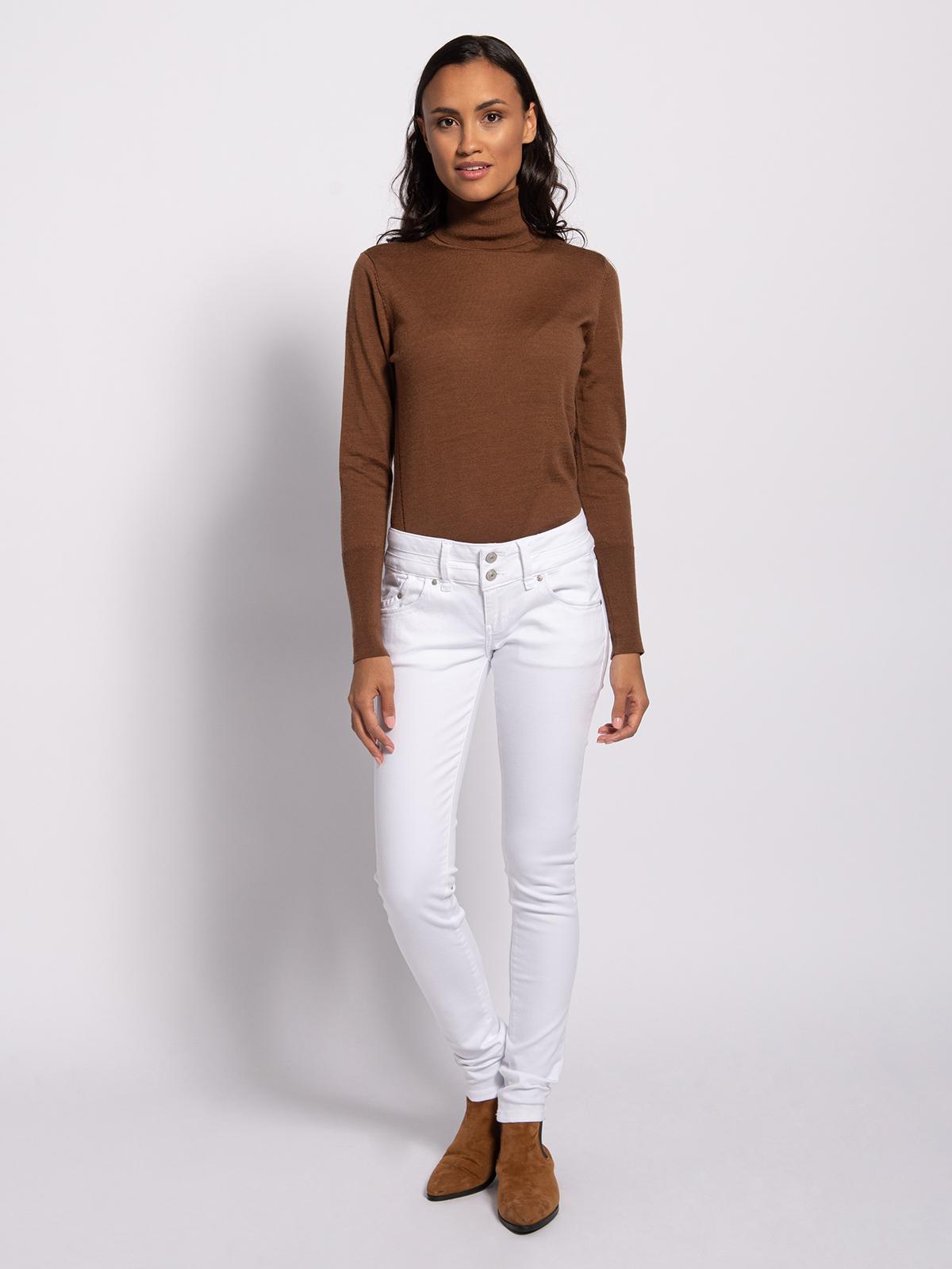 LTB Spijkerbroek in wit voor Dames