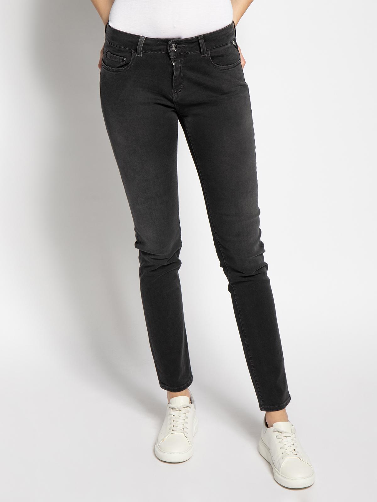 Replay Faaby Jeans in grau für Damen, Größe: 31-30