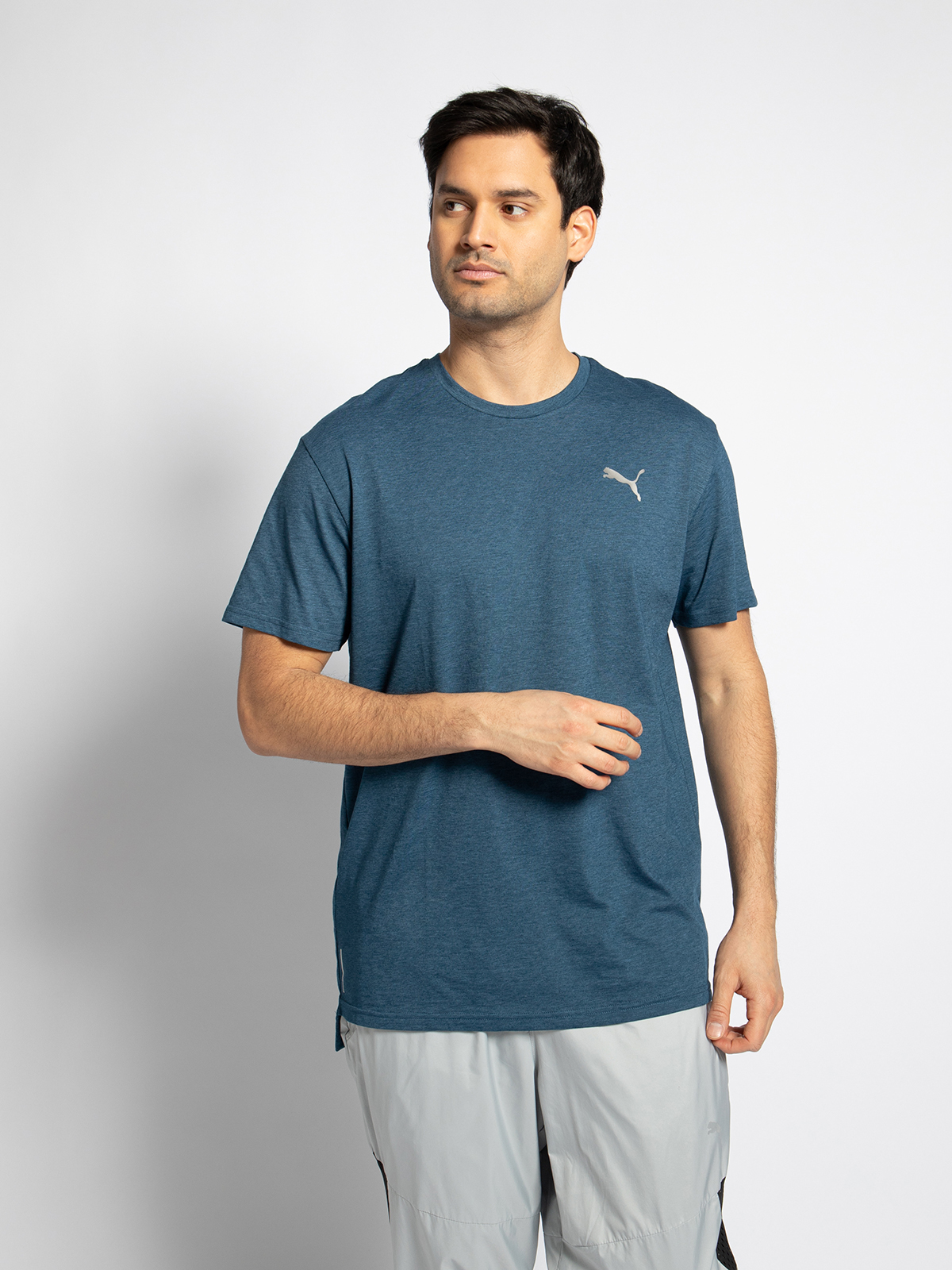 Puma Funktionsshirt in blau für Herren, Größe: M
