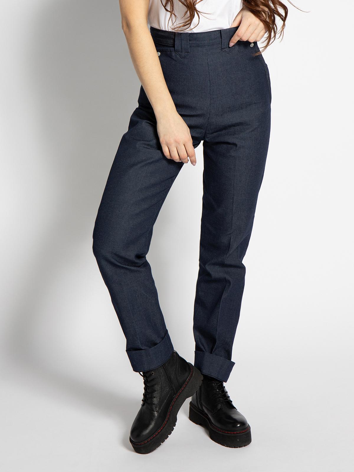 Lee Frontier Jeans in blau für Damen, Größe: 32-32