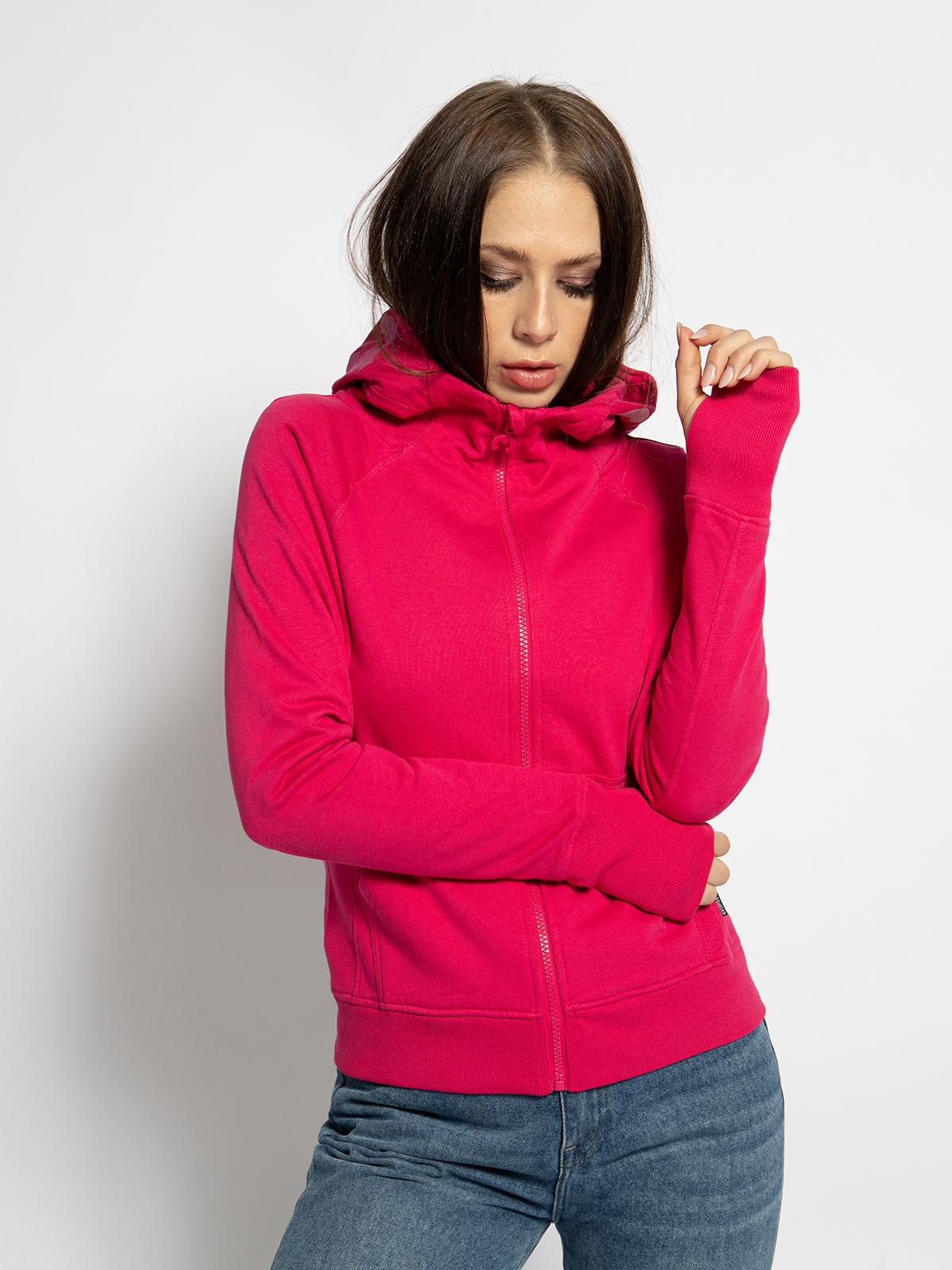 Chiemsee Sweatvest in pink voor Dames