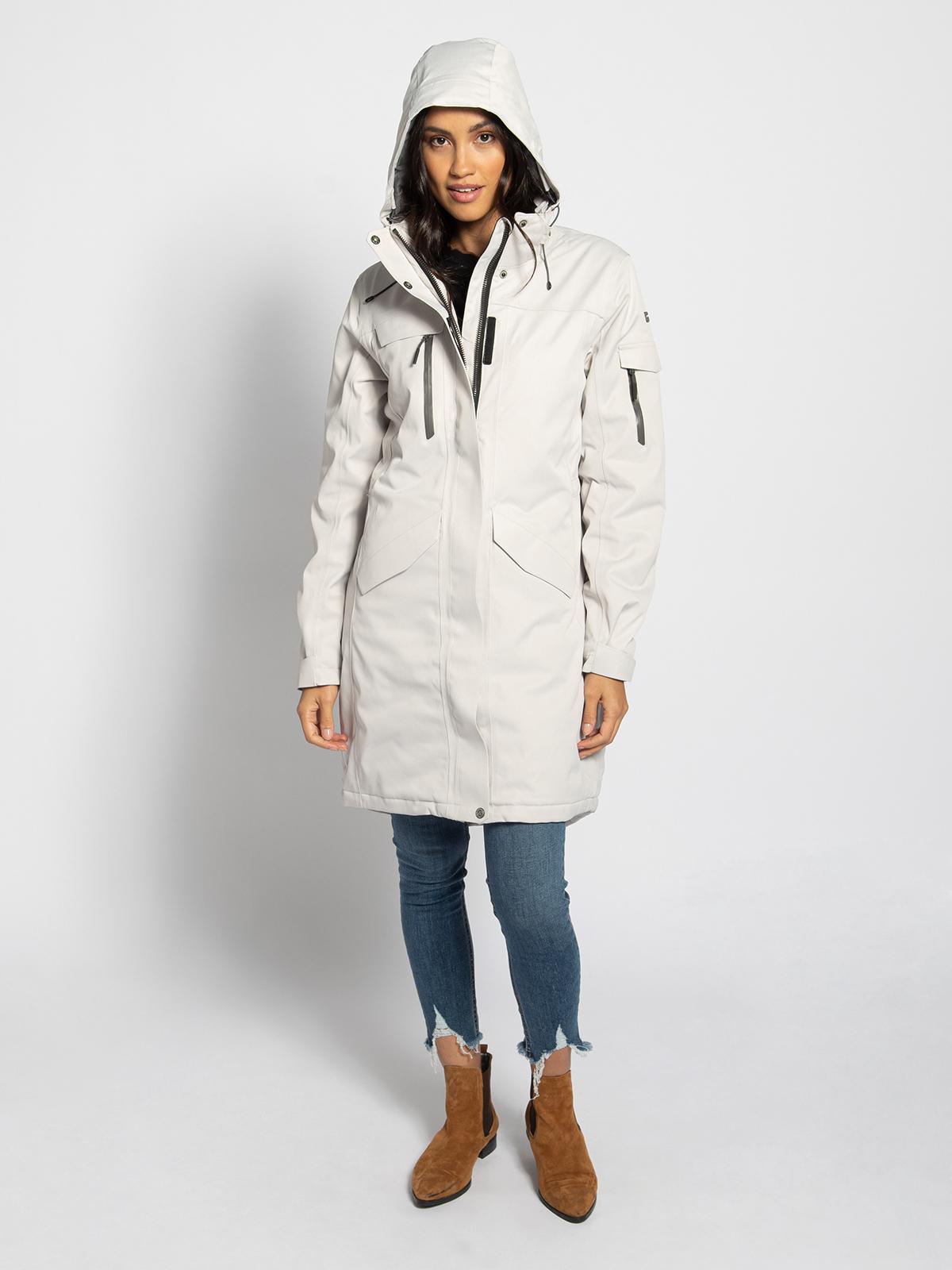 Killtec Mantel in wit voor Dames
