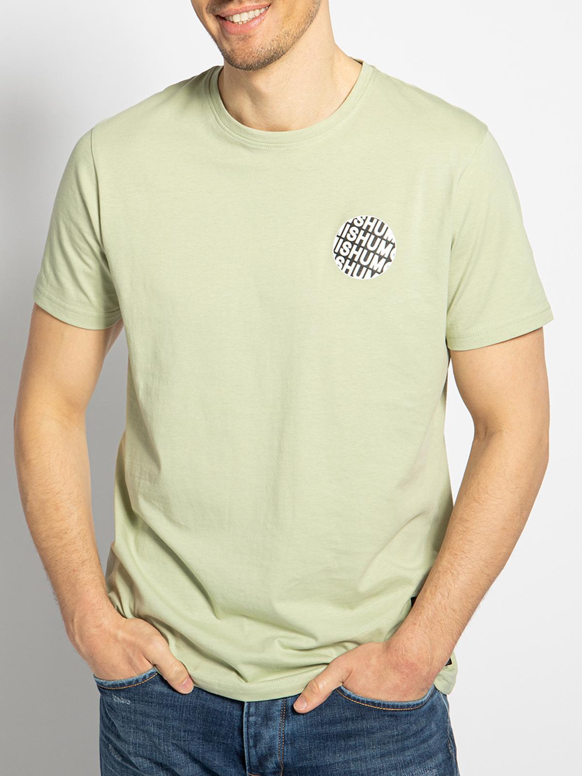 Mishumo T-Shirt in grün für Herren, Größe: XXXL