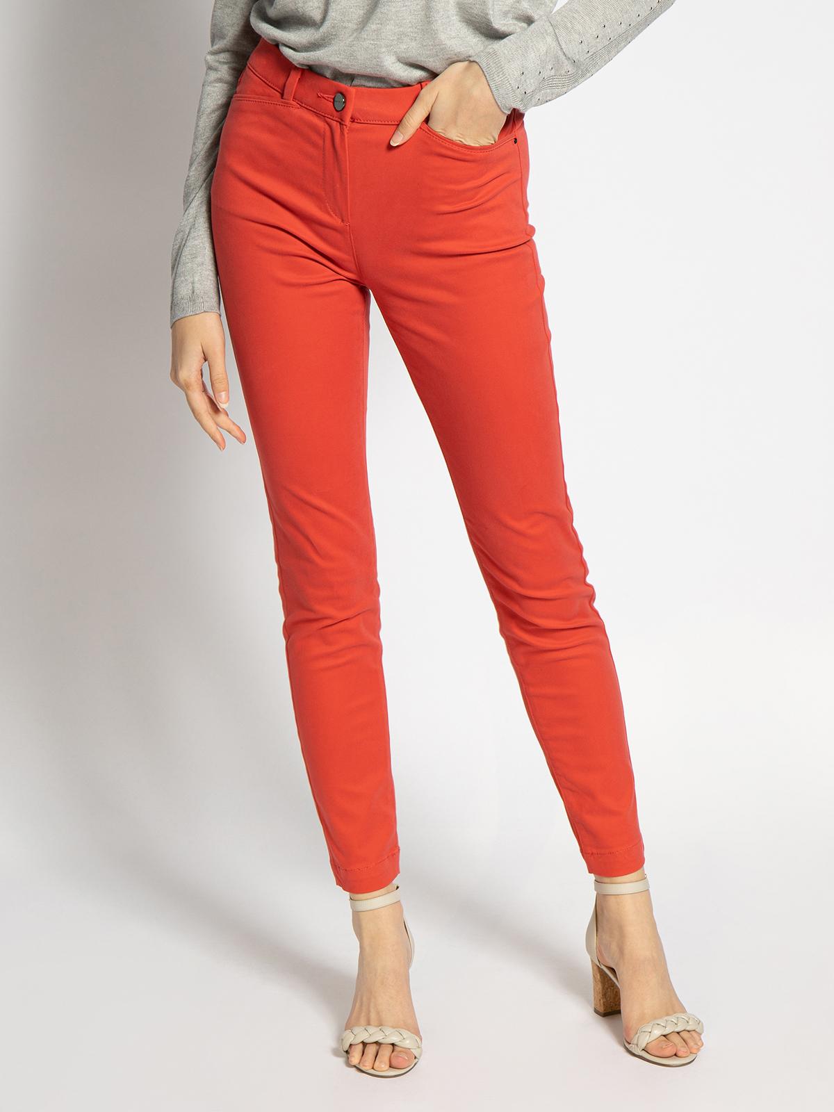 Esprit Hose in rot für Damen, Größe: 32-30