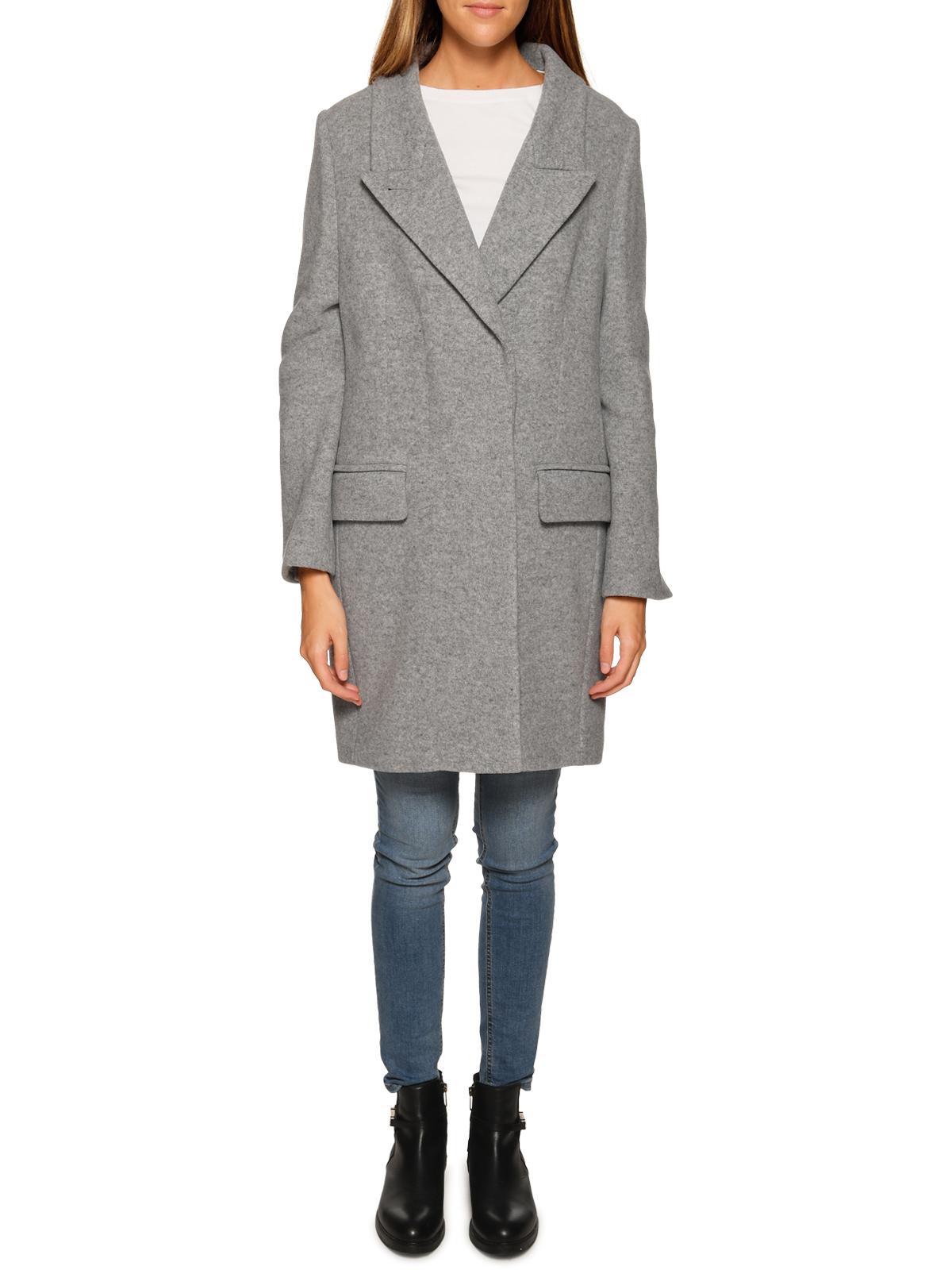 Drykorn Wollmantel in grau für Damen, Größe: 40