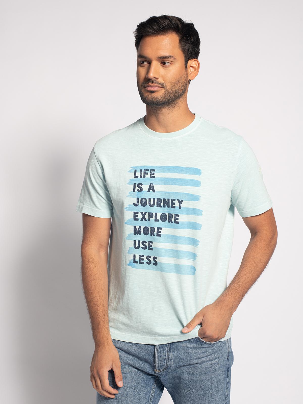 North Sails T-Shirt in blau für Herren, Größe: M