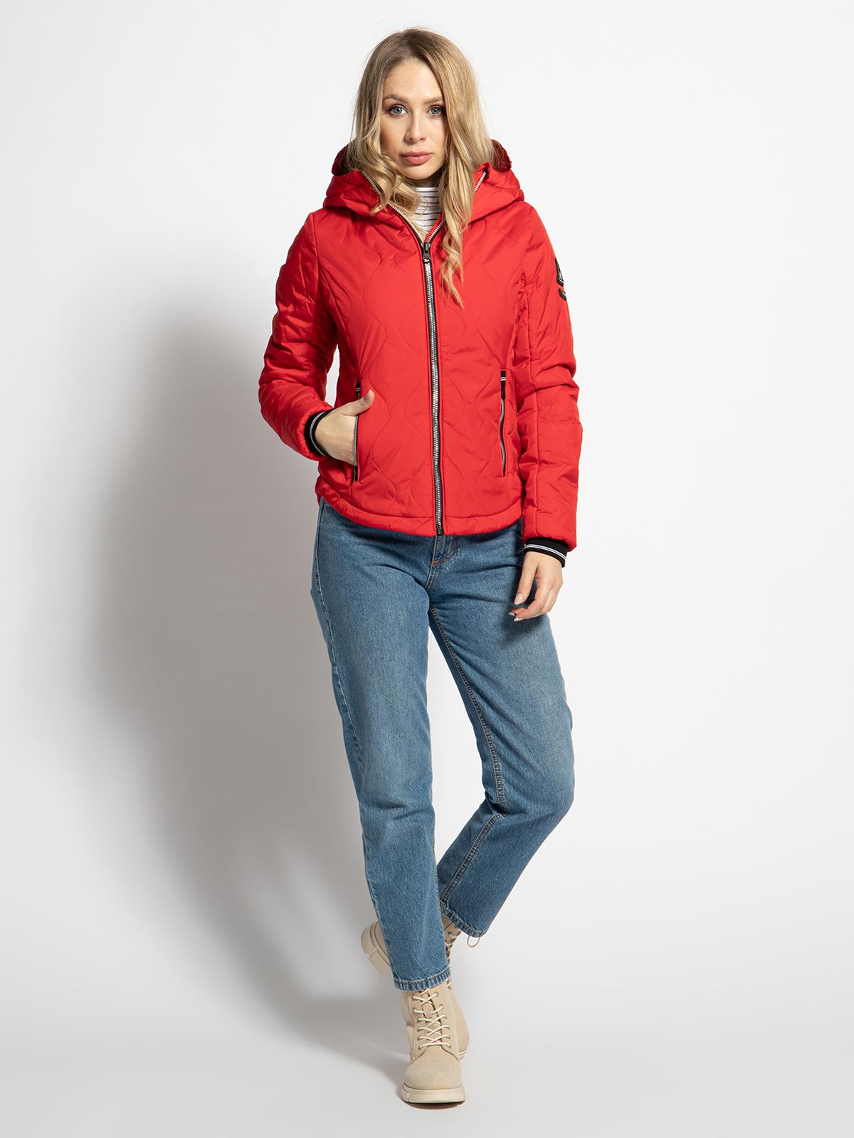 Gaastra Steppjacke in rot für Damen, Größe: S