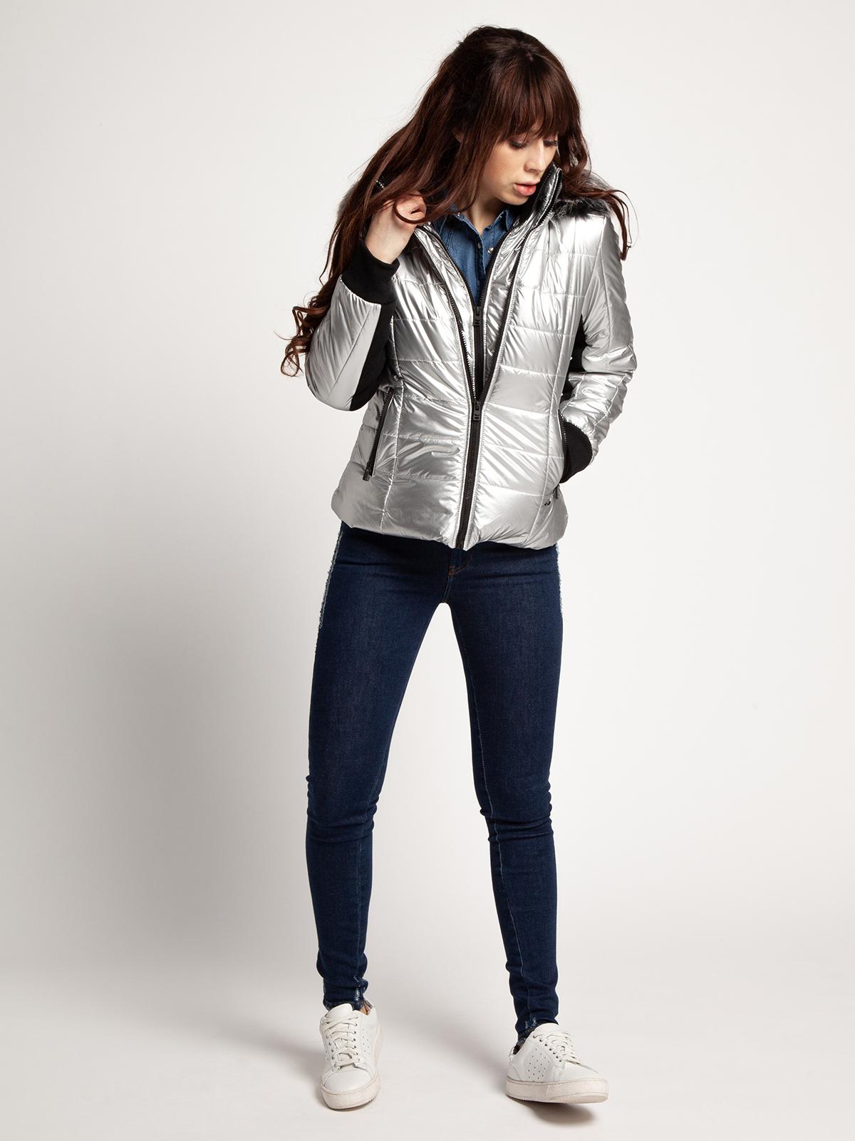 LTB Winterjas in zilver voor Dames