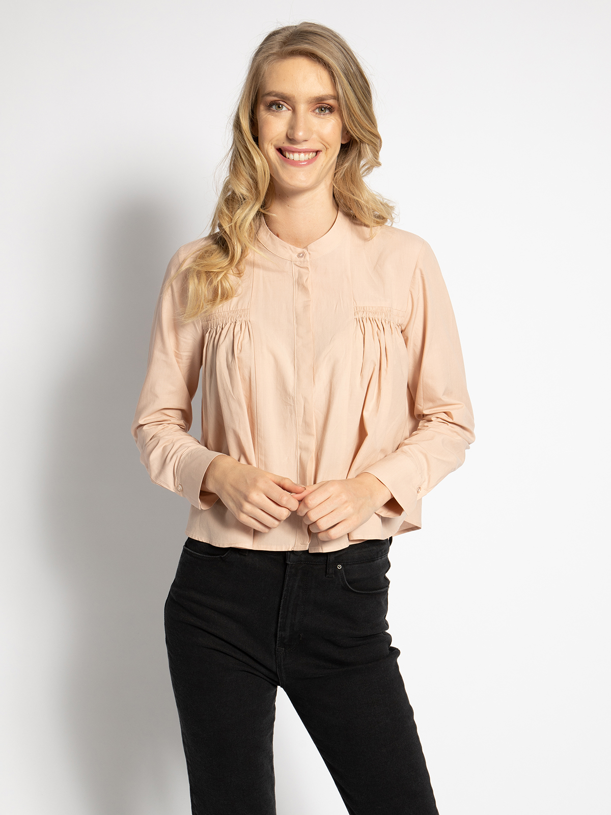 Mavi Bluse in rosa für Damen, Größe: XL