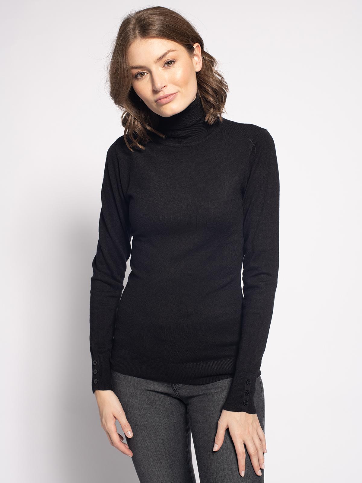 Mishumo Pullover in schwarz für Damen, Größe: XL