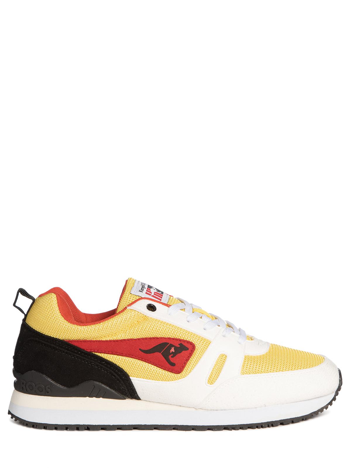 Kangaroos Sneaker in gelb für Herren, Größe: 43