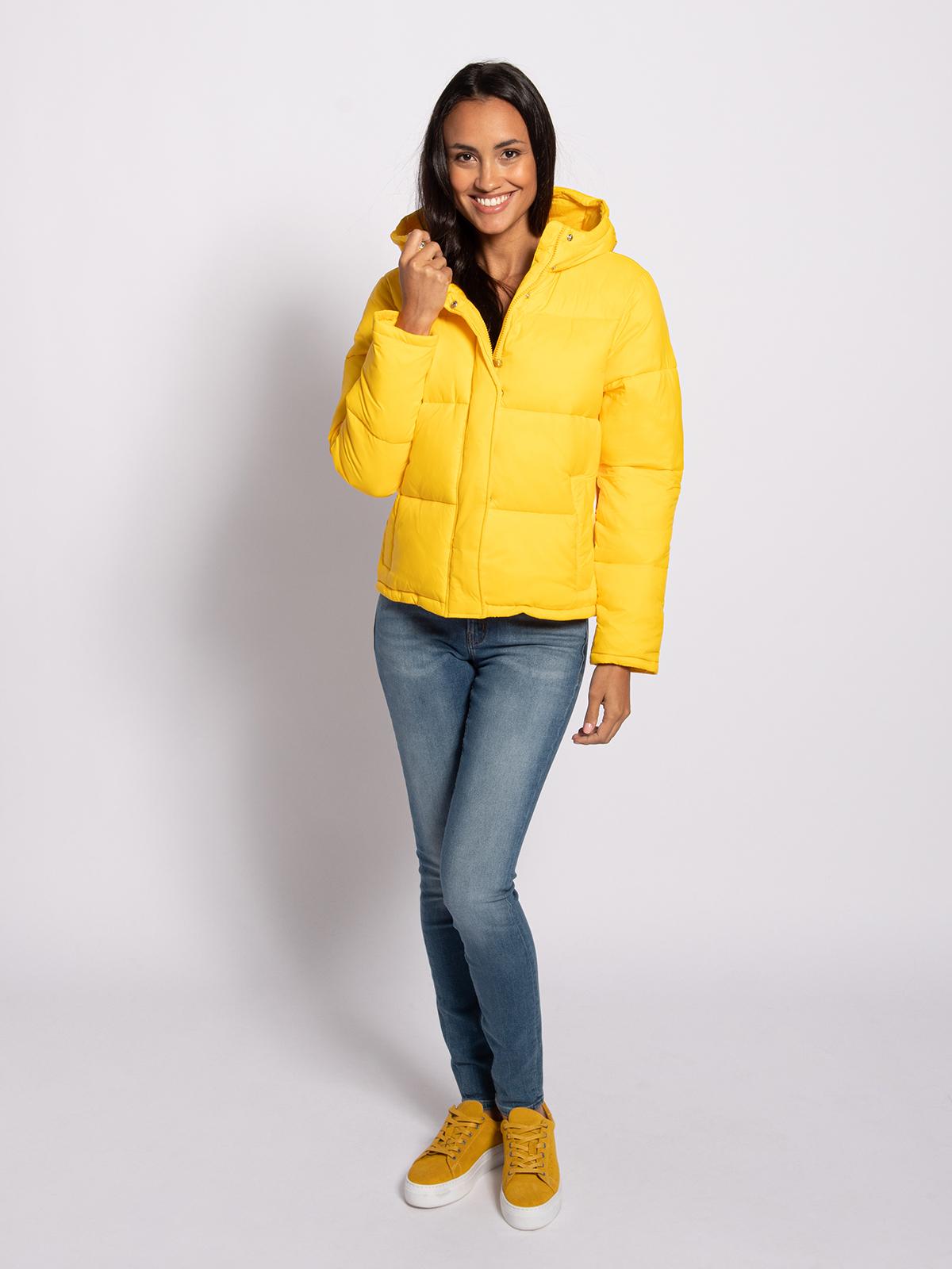 Calvin Klein Winterjas in geel voor Dames