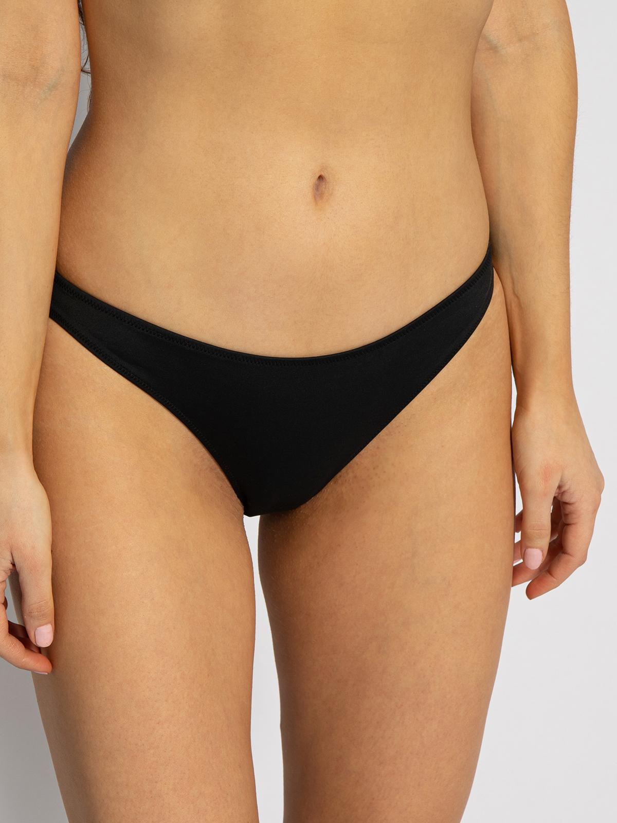 Calvin Klein Bikinislip in schwarz für Damen, Größe: S