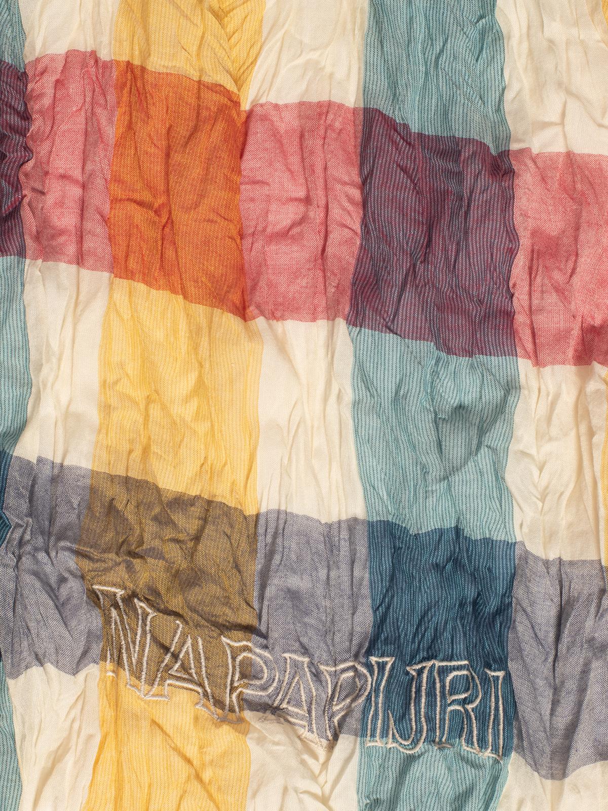 Napapijri Sjaaltje in wit voor Heren, grootte: