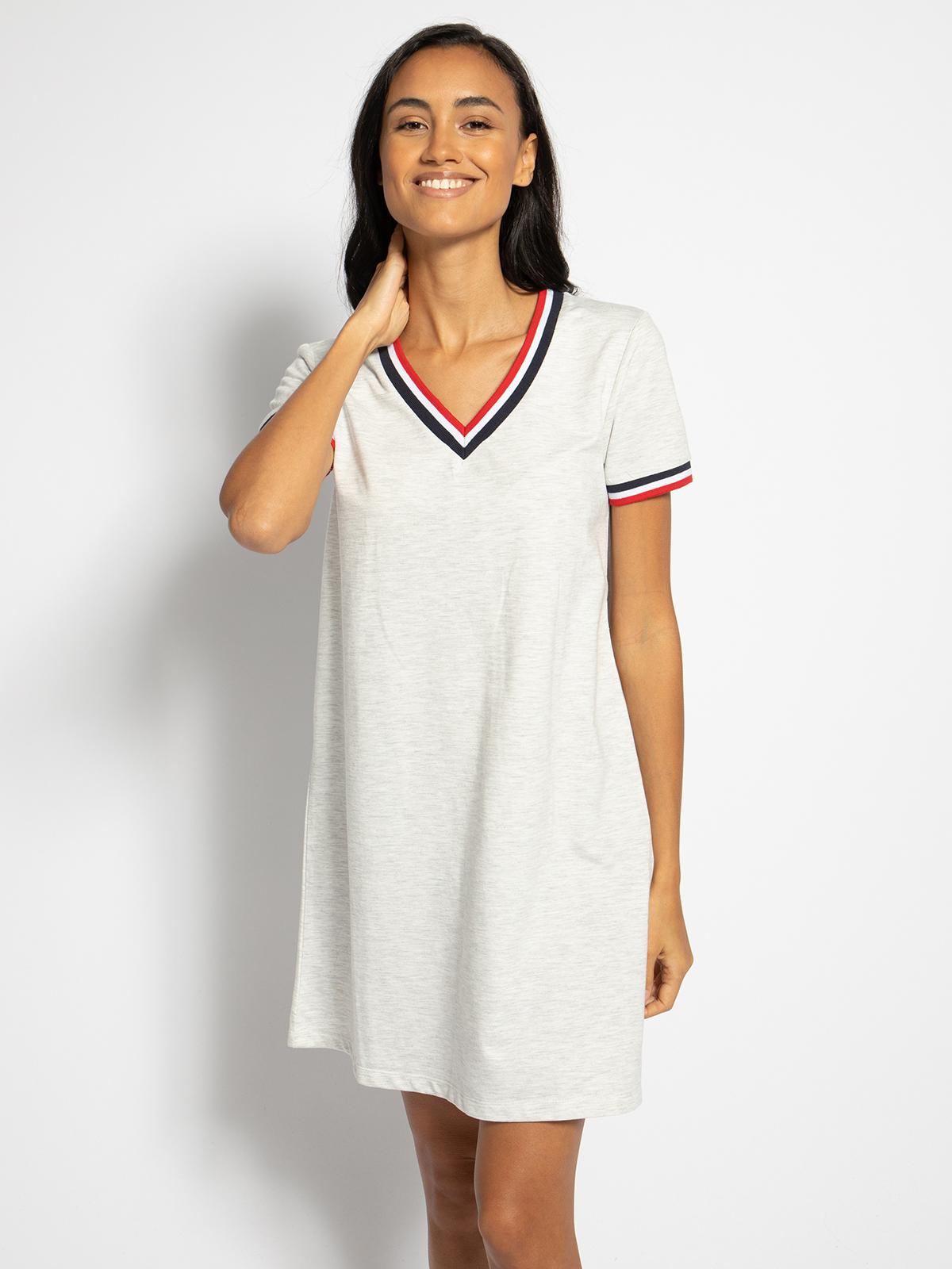LTB Sweatkleid in grau für Damen, Größe: S