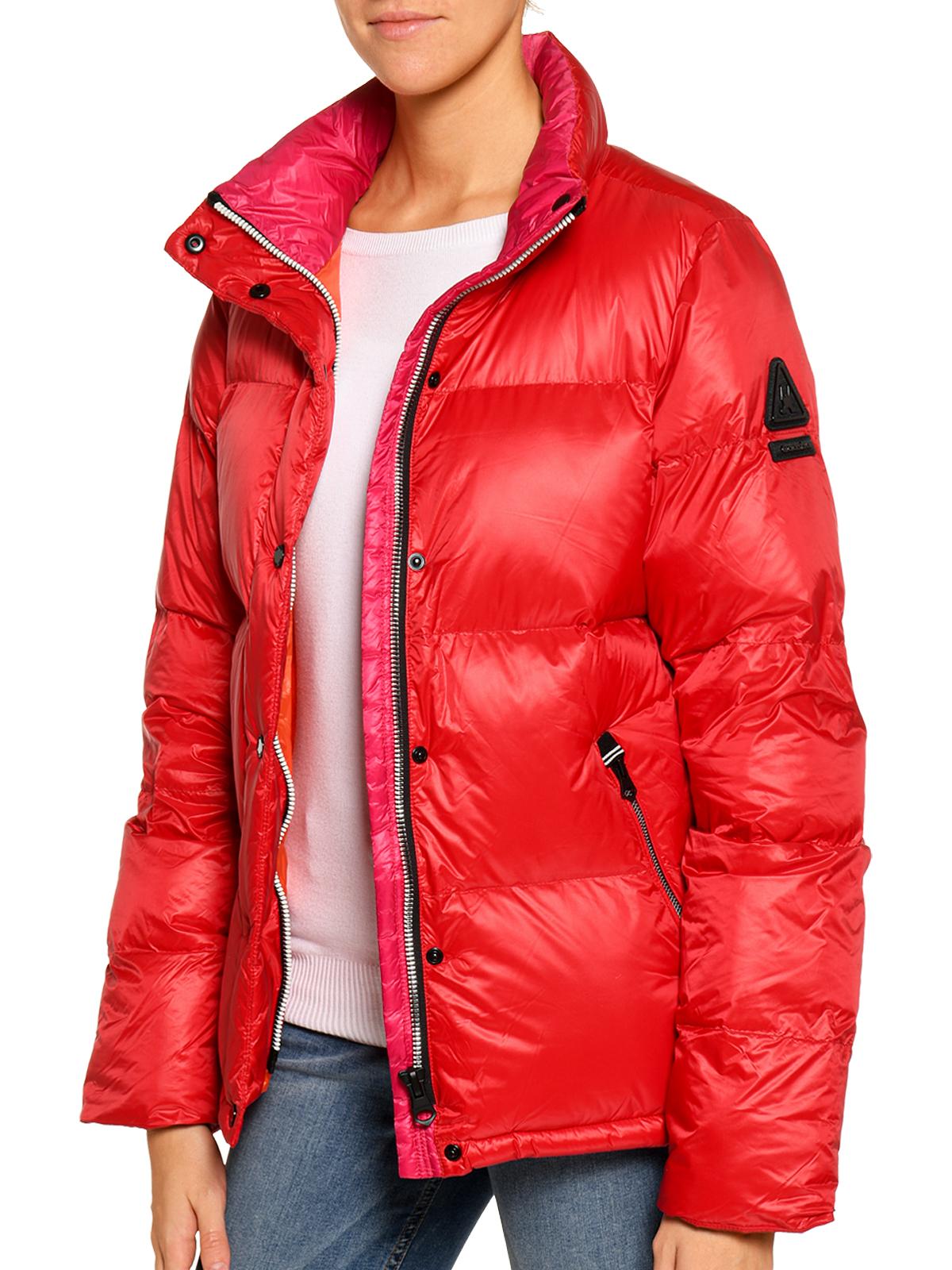 Gaastra Steppjacke in rot für Damen, Größe: L