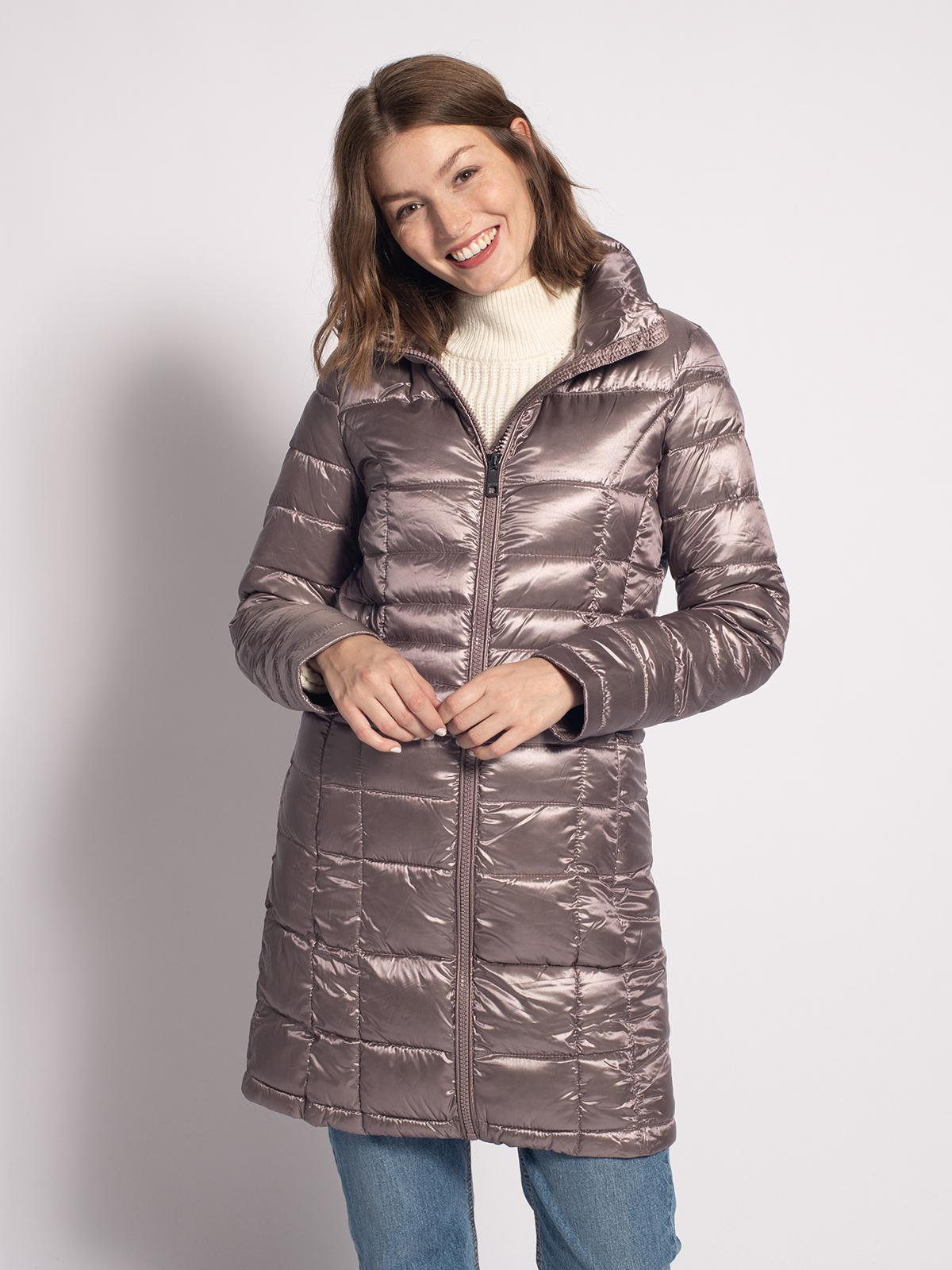 Calvin Klein Daunenmantel in lila für Damen, Größe: M