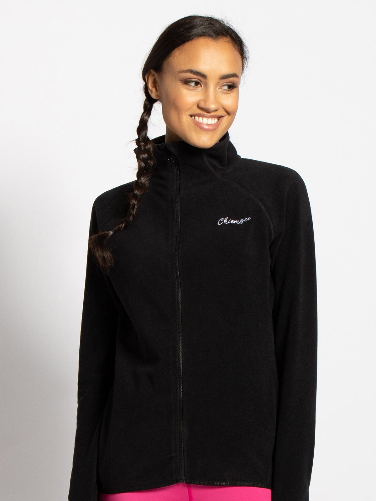 Chiemsee Fleecevest in zwart voor Dames