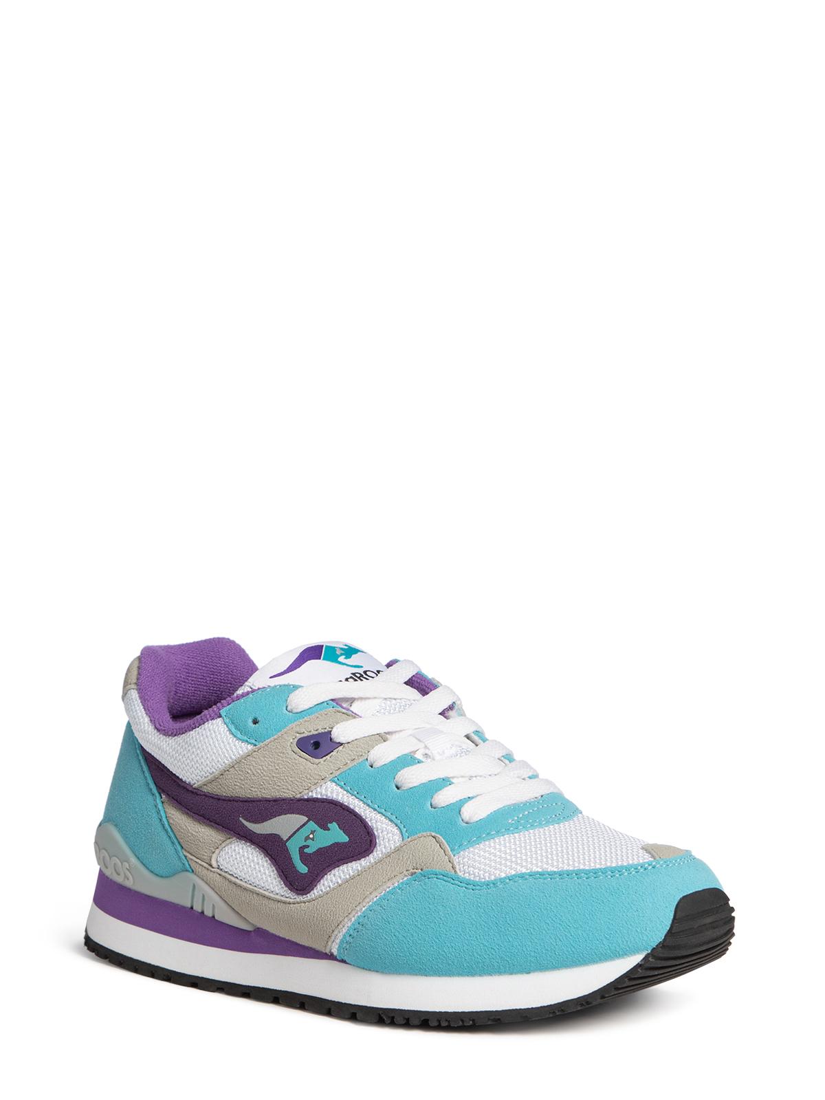 Kangaroos Sneaker in türkis für Damen, Größe: 36