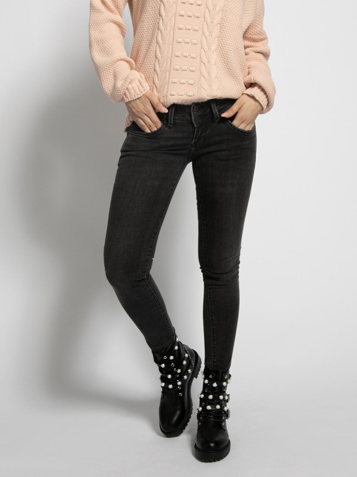 LTB Julita X Jeans in schwarz für Damen, Größe: 29-30