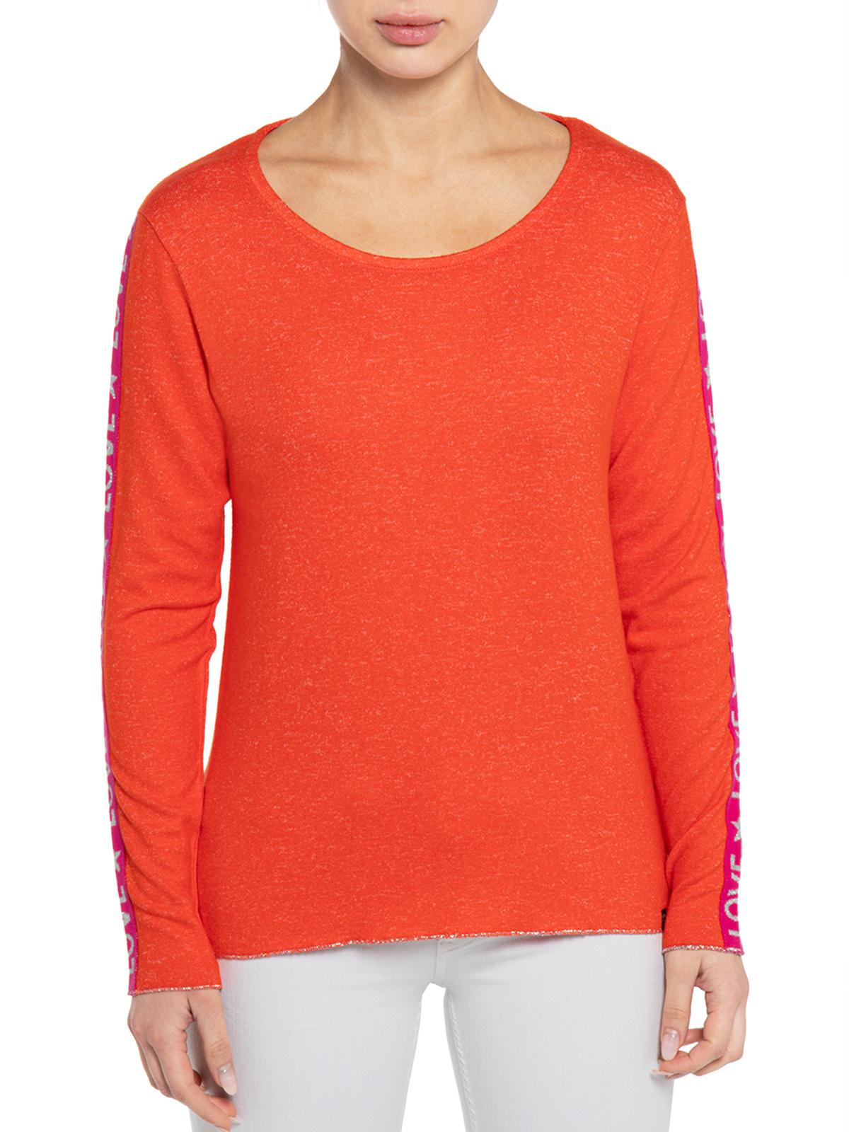 Key Largo Pullover in orange für Damen, Größe: S