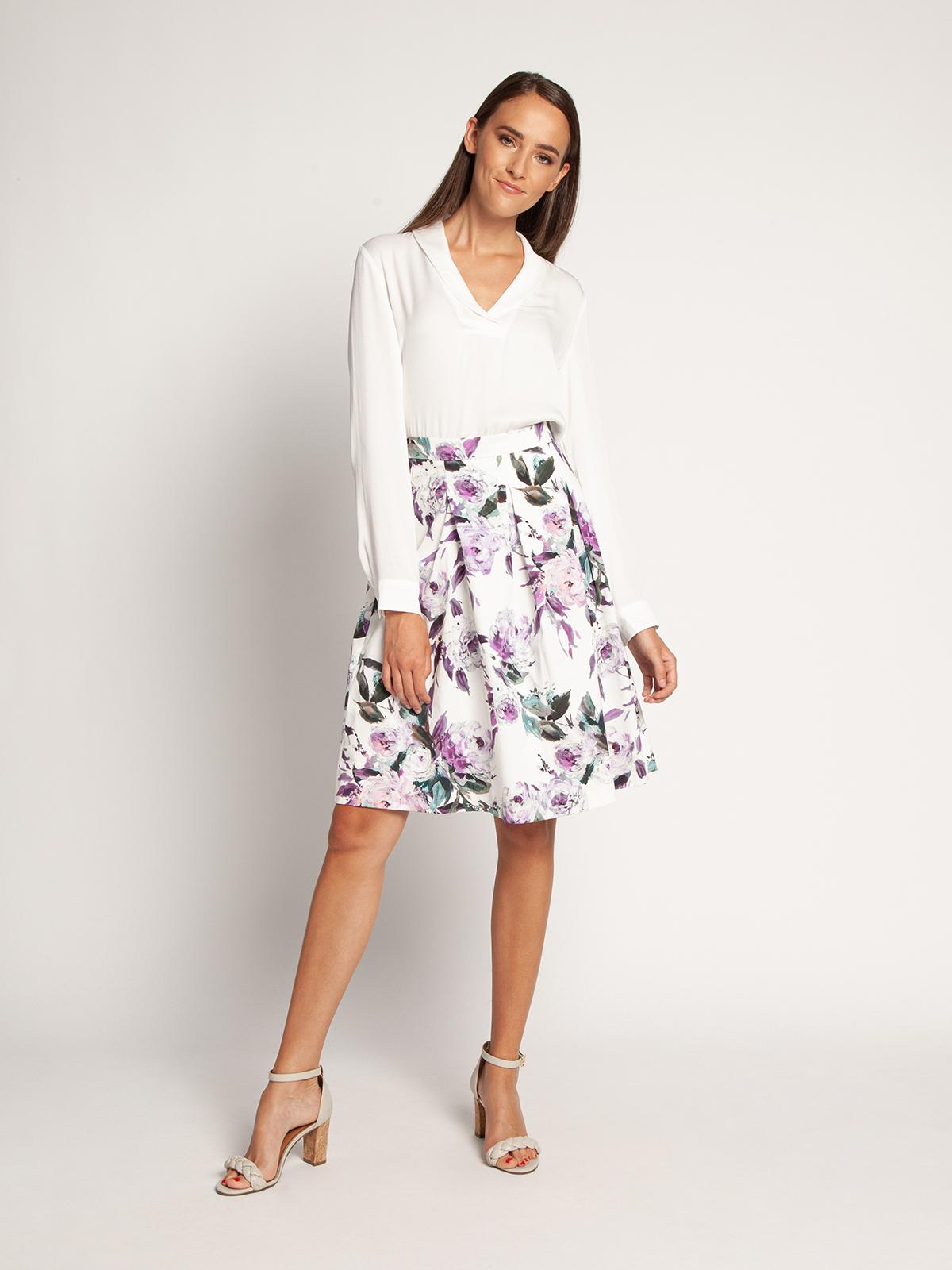 Esprit Blouse in wit voor Dames