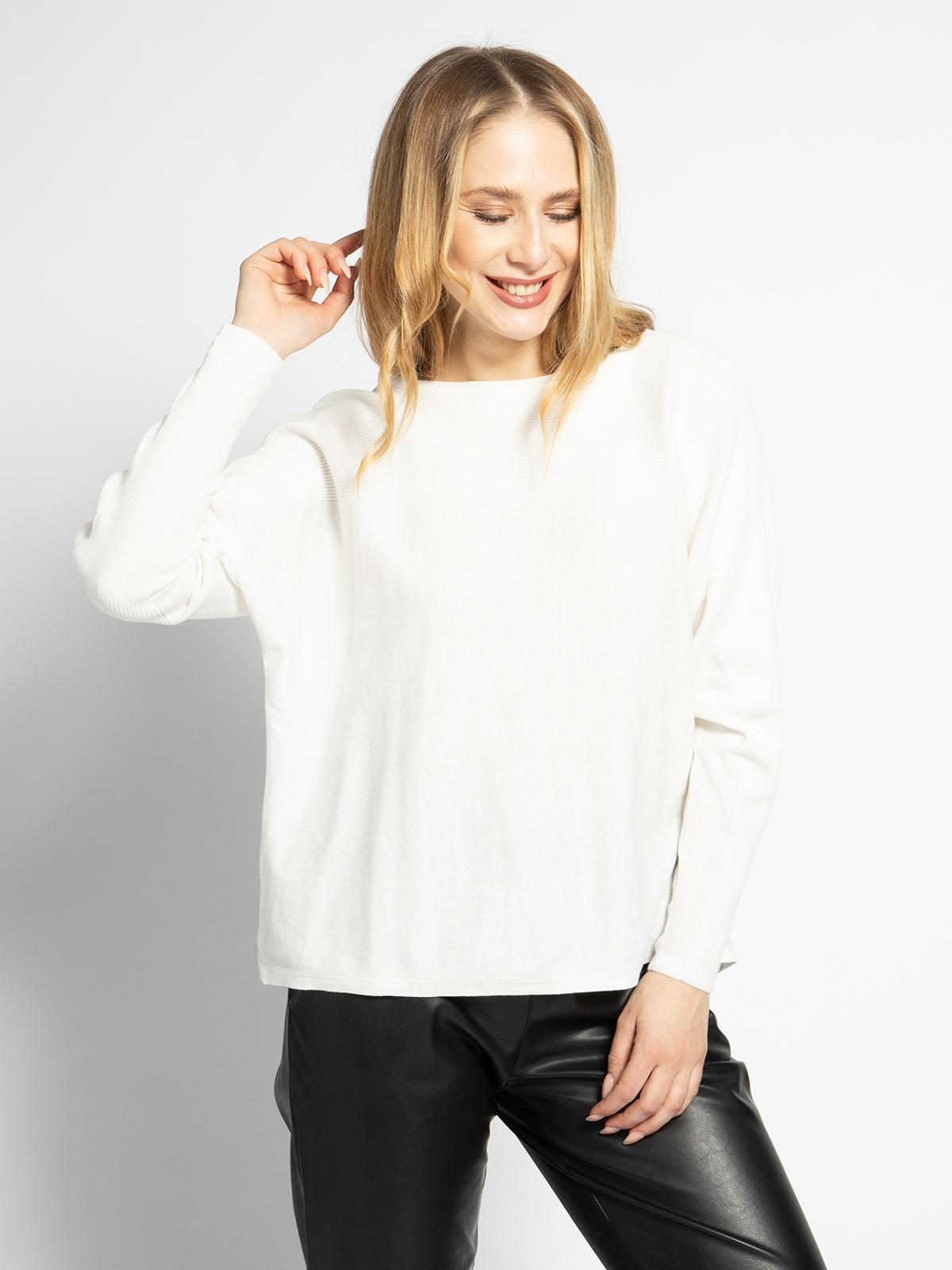 Esprit Pullover in weiss für Damen, Größe: XS