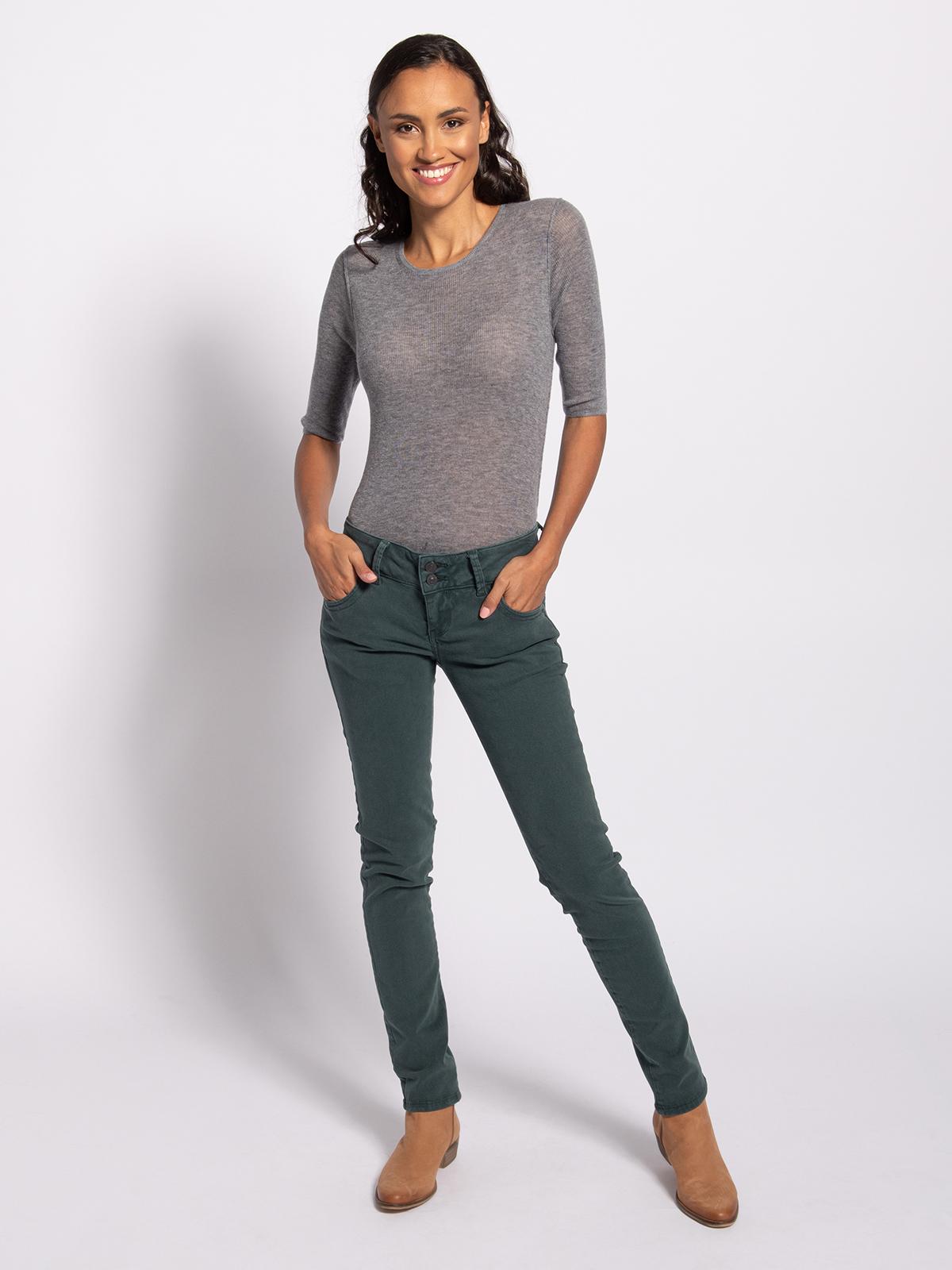 LTB Spijkerbroek in groen voor Dames