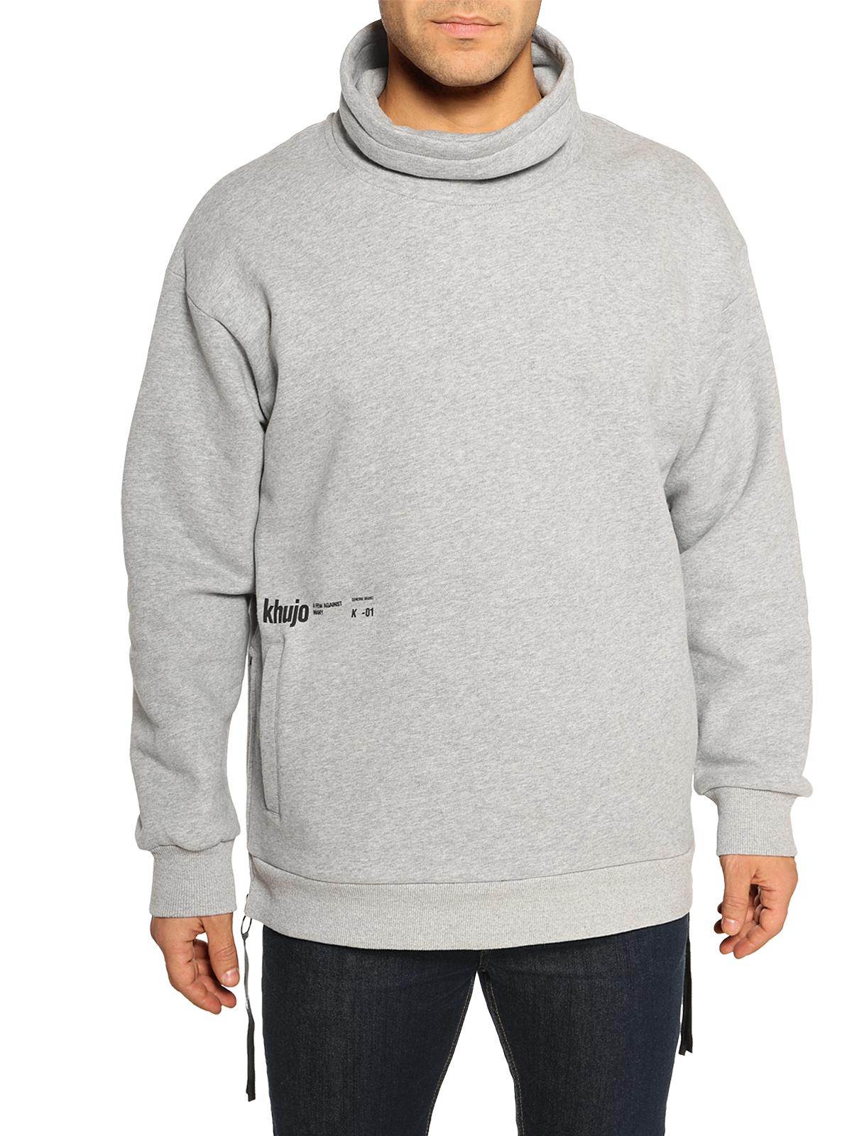 Khujo Sweatshirt Warlock schwarz | Dress for less