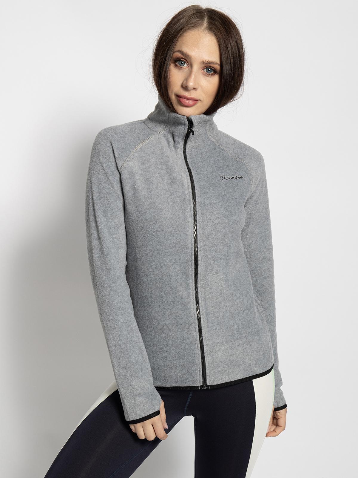 Chiemsee Fleecevest in grijs voor Dames