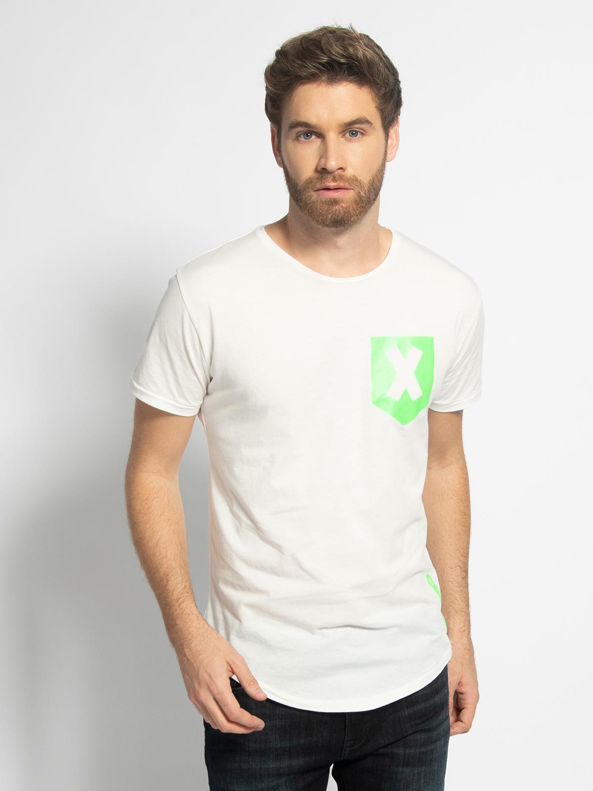 Key Largo T-Shirt in weiss für Herren, Größe: XL