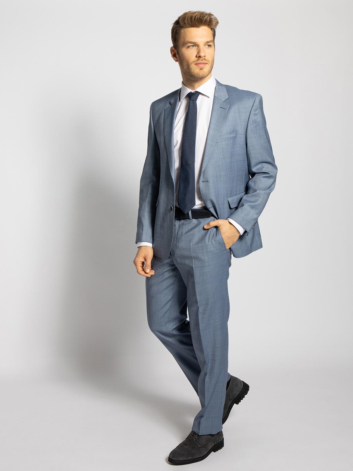 Lan.F.lli Cerruti Gilbert Regular Fit in blau für Herren, Größe: 56