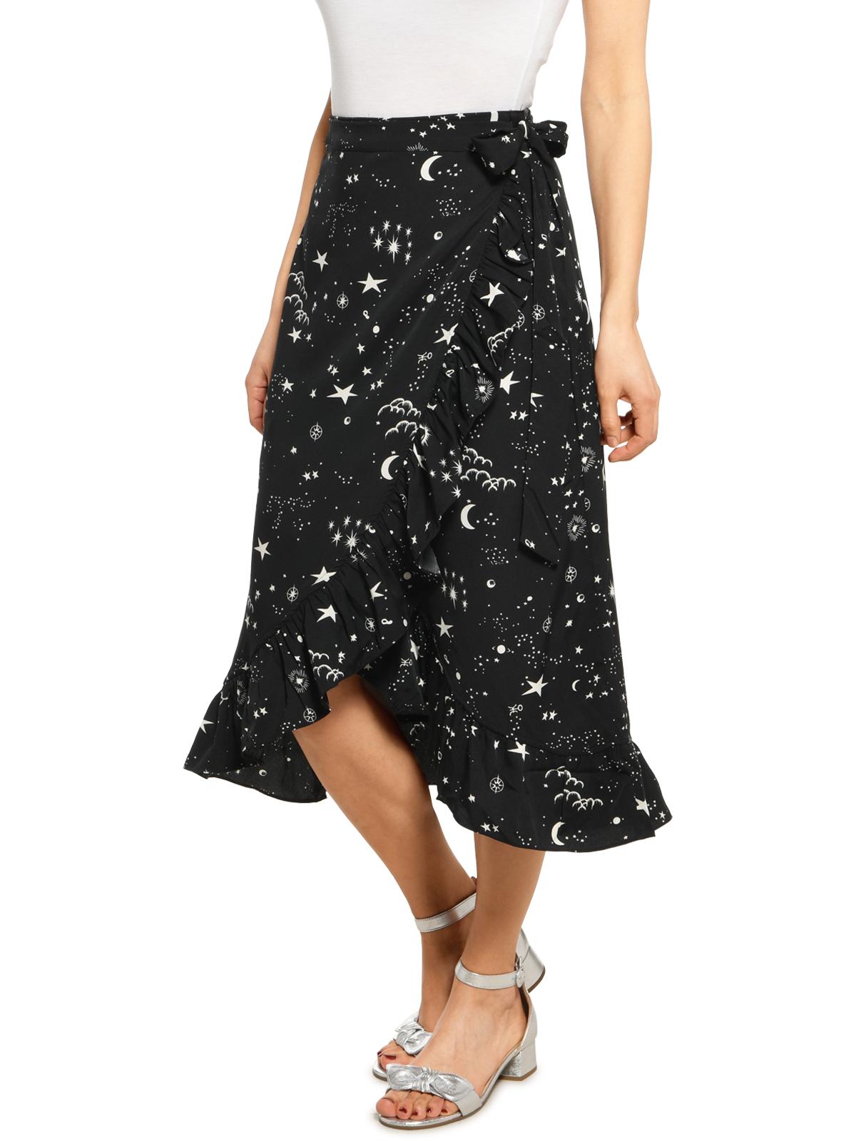 Vero Moda Wickelrock in schwarz für Damen, Größe: S