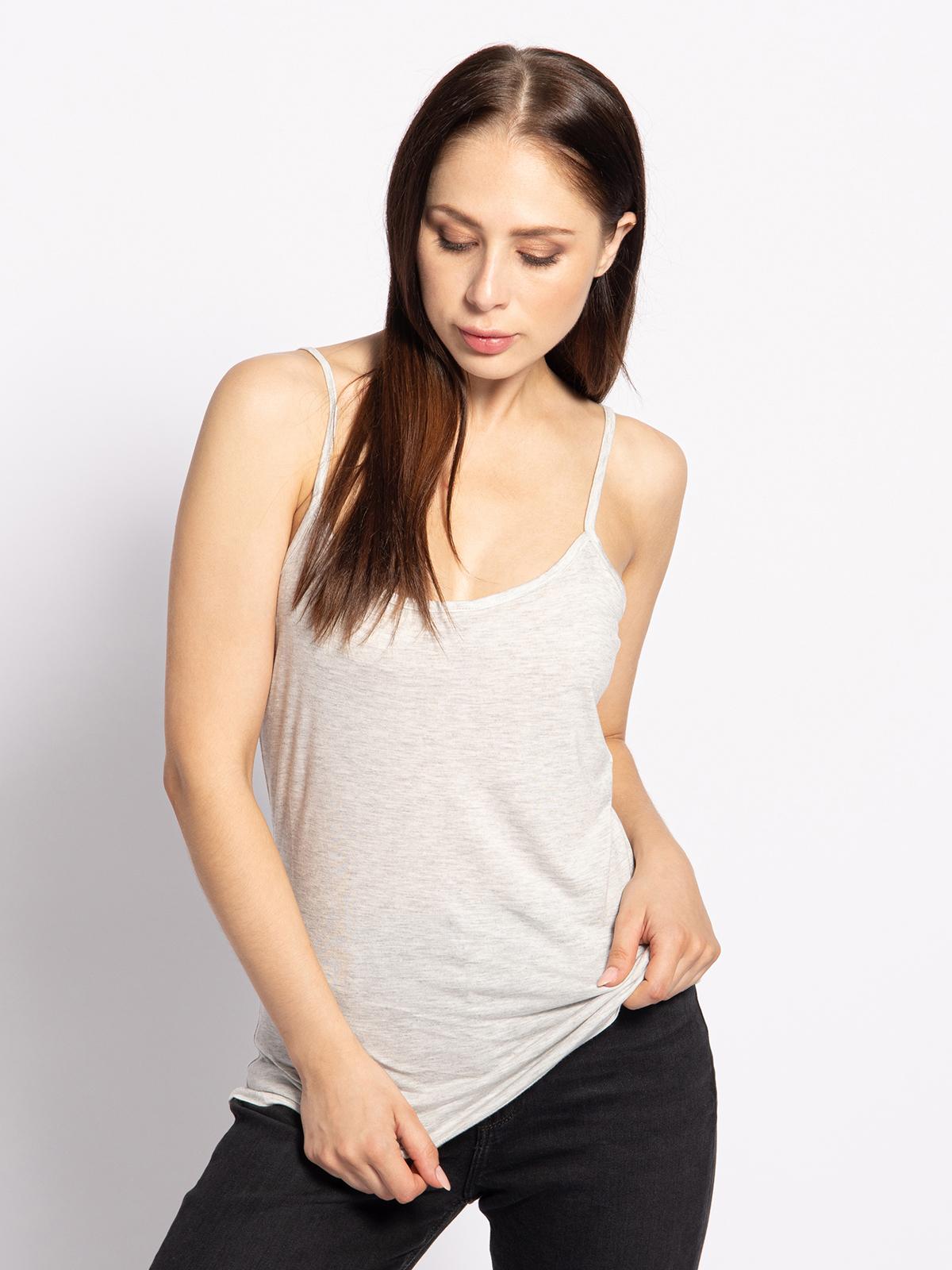 Mishumo Top in grau für Damen, Größe: 40
