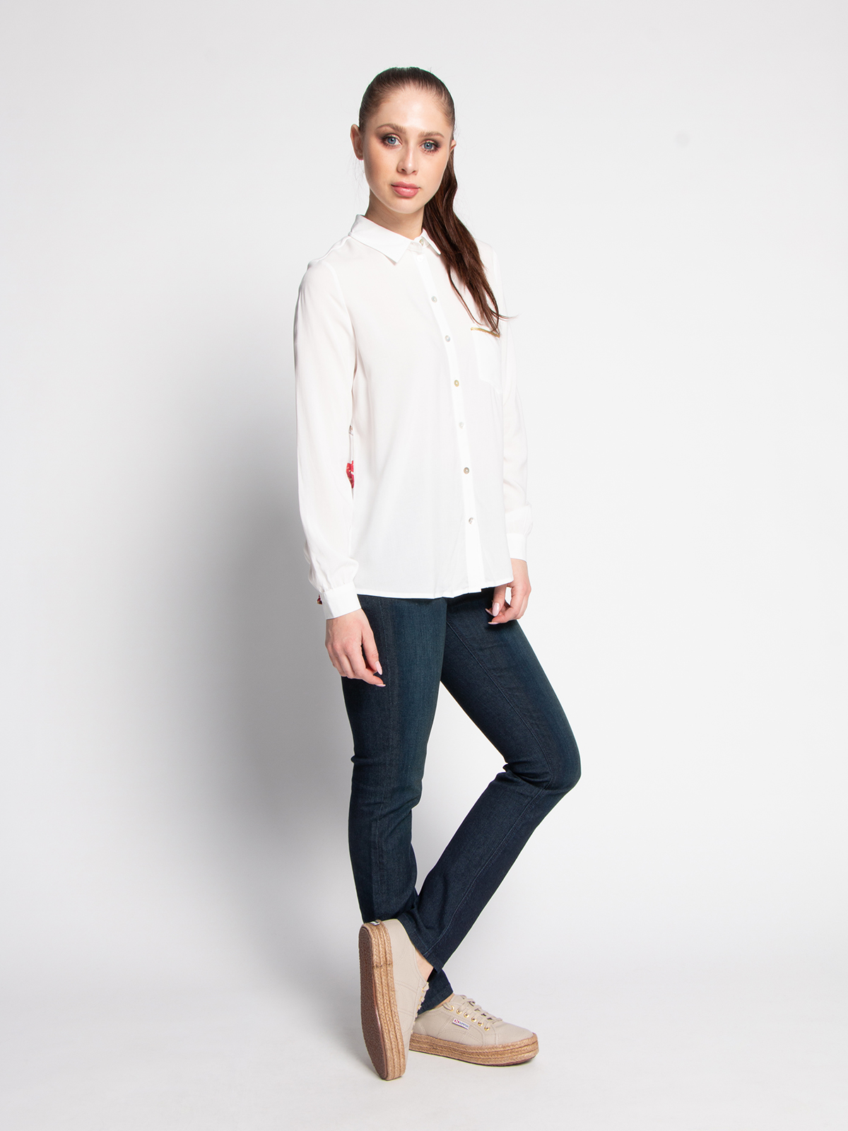 Key Largo Blouse in wit voor Dames