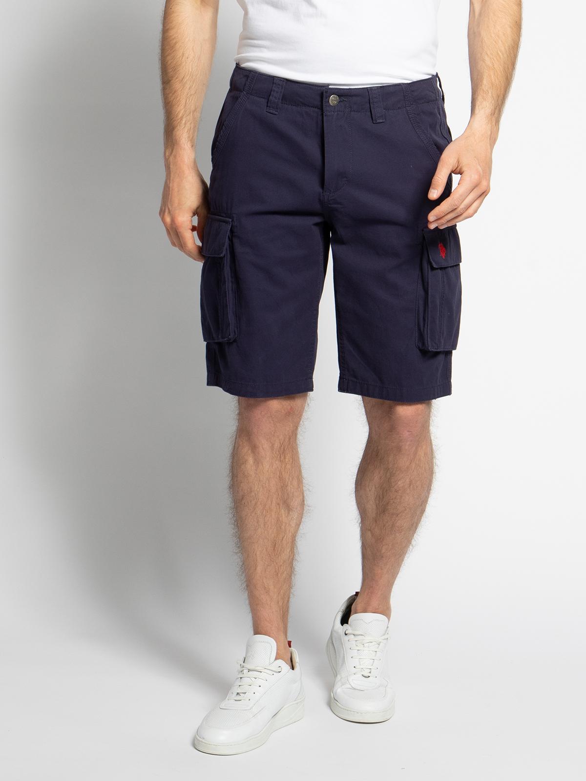 U.S. Polo Assn. Bermuda Shorts in blau für Herren, Größe: XL. 61087
