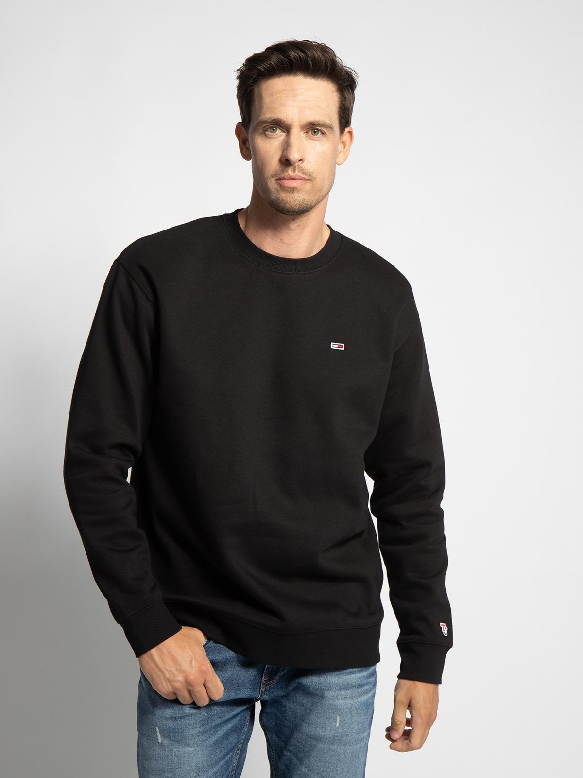 Tommy Hilfiger Sweatshirt in schwarz für Herren, Größe: L