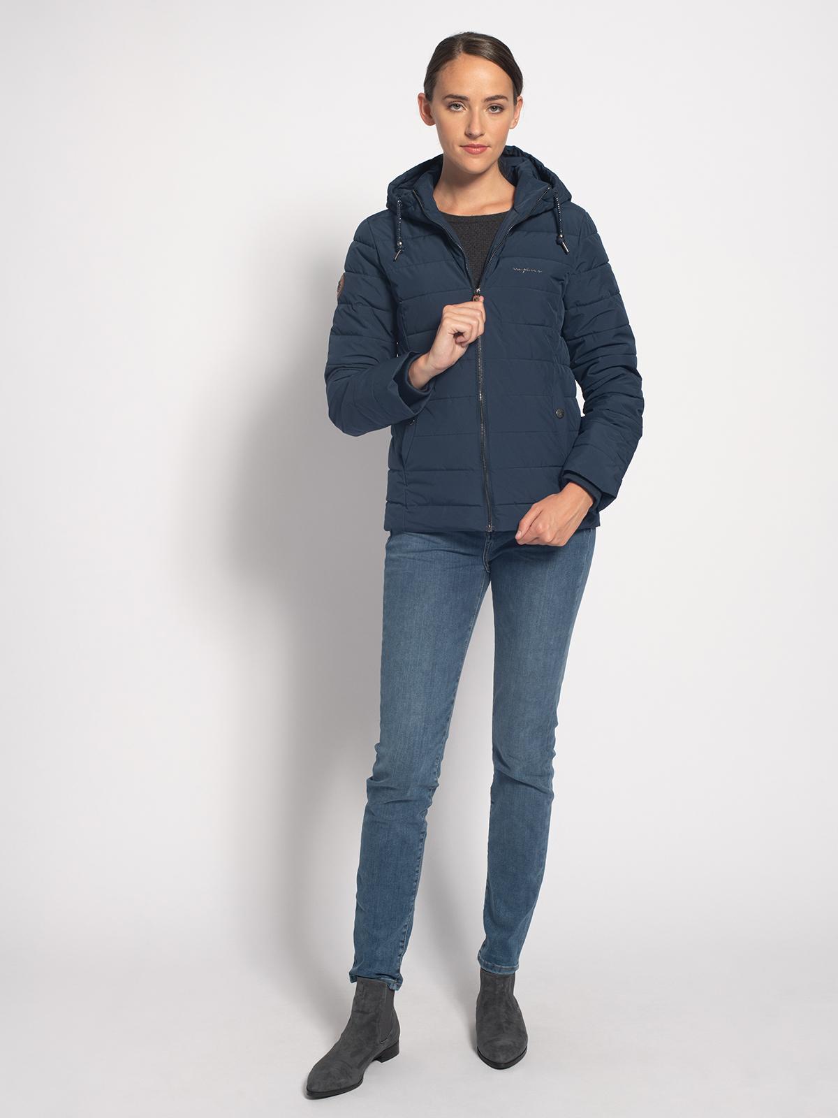 Mazine Gewatteerde jas in blauw voor Dames