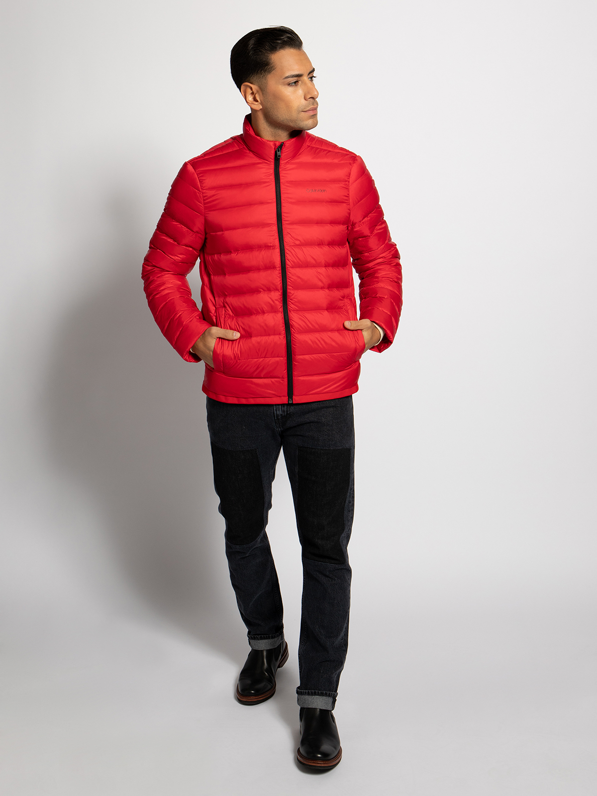 Calvin Klein Donsjas in rood voor Heren