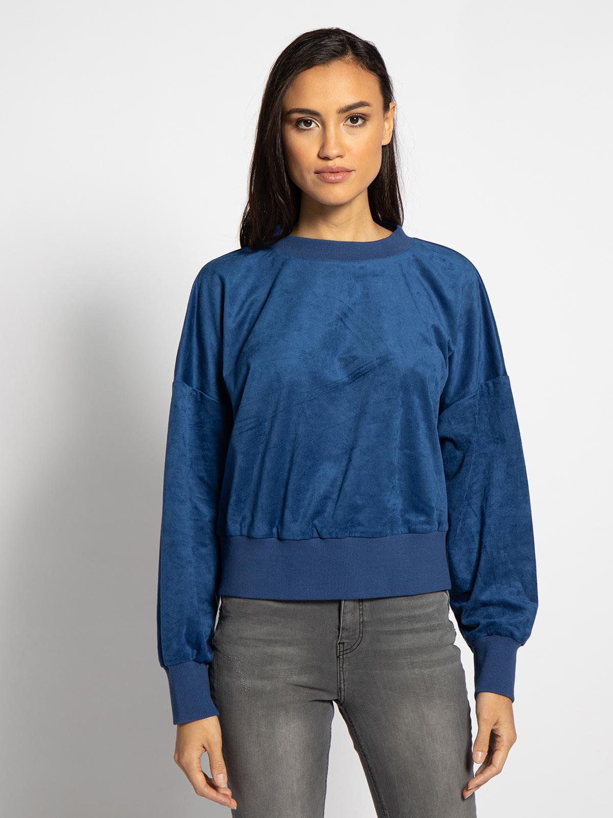 Esprit Blouse in blauw voor Dames