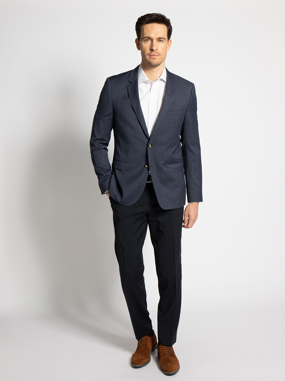 Tommy Hilfiger Baukasten-Sakko Rebel Slim Fit in blau für Herren, Größe: 110
