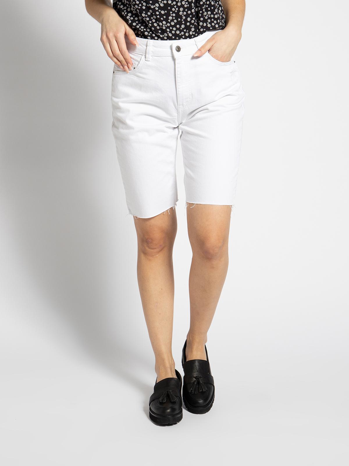 Esprit Jeansbermuda in weiss für Damen, Größe: 29