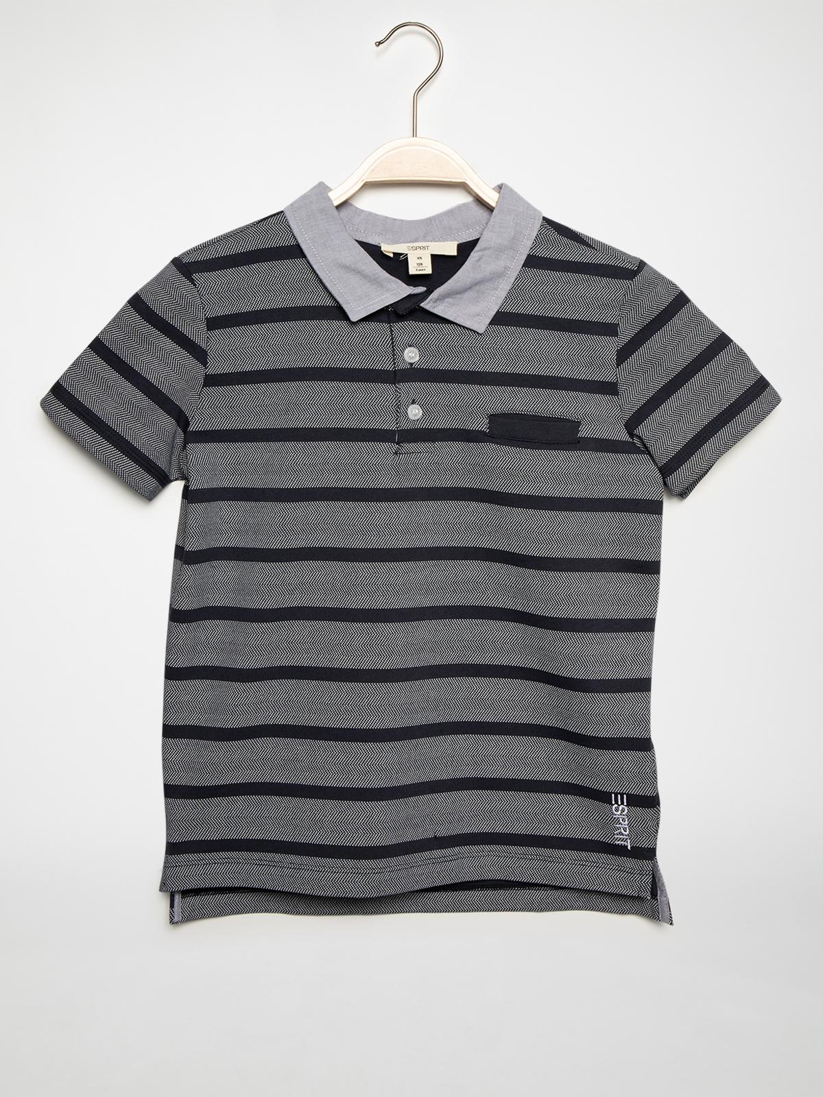 Esprit Poloshirt in blau für Herren, Größe: 176