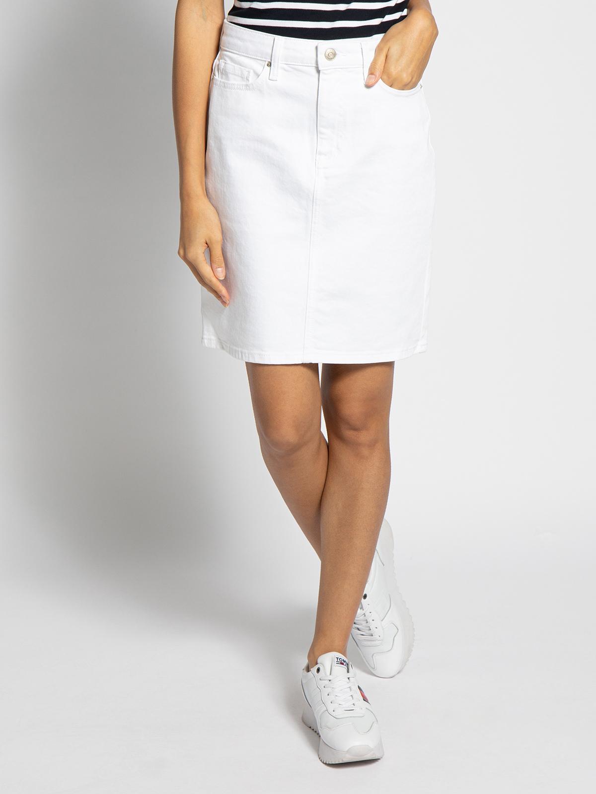 Tommy Hilfiger Denim rok in wit voor Dames